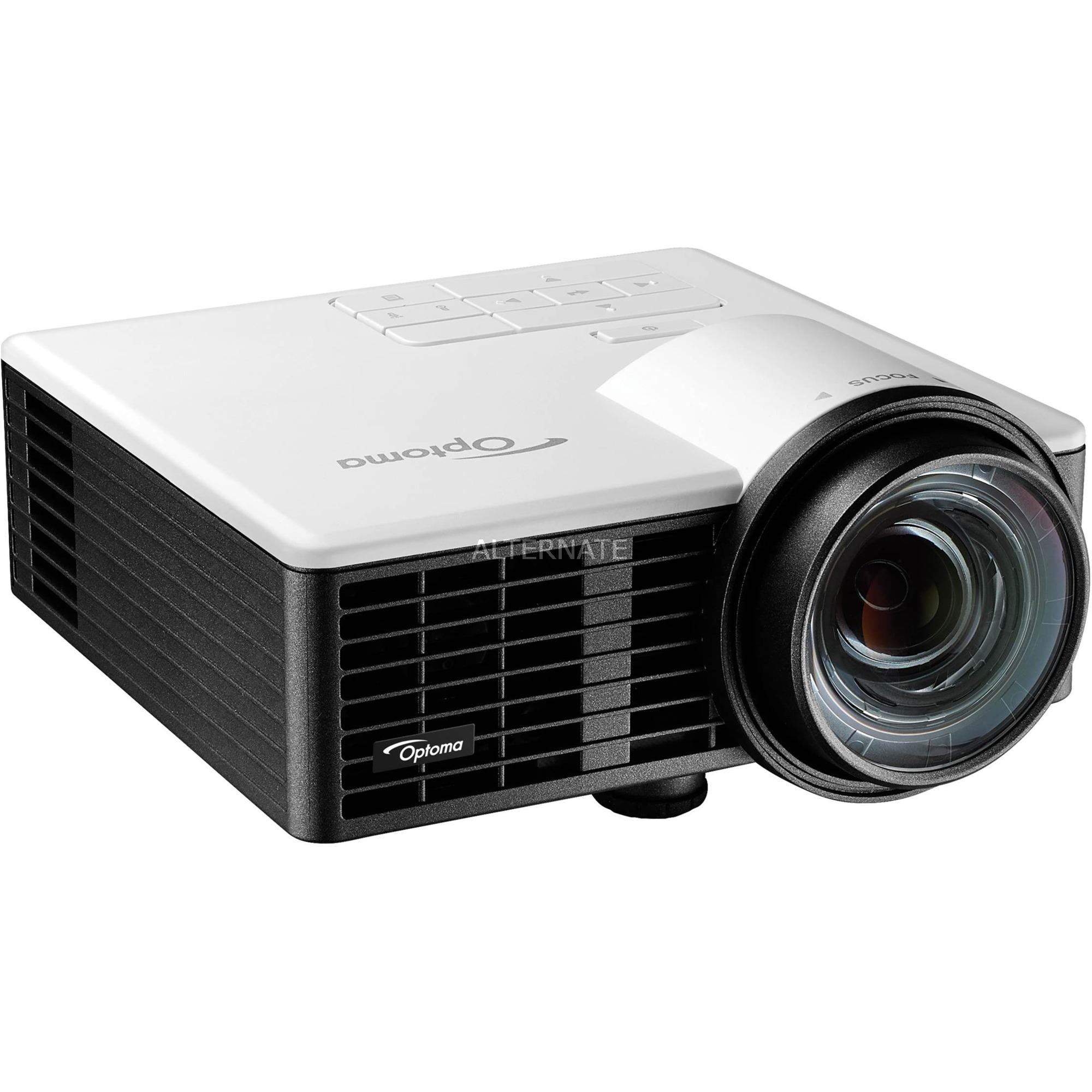 ML1050ST videoproyector 1000 lúmenes ANSI DLP WXGA (1280x720) 3D Proyector portátil Negro, Proyector DLP