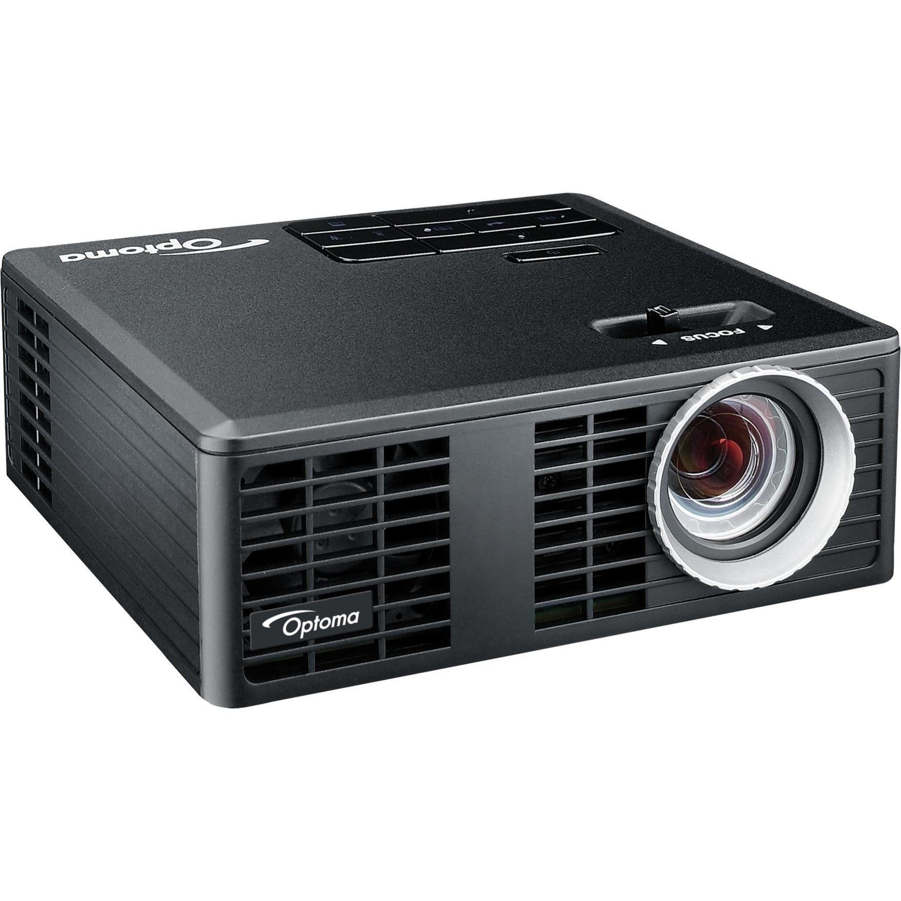 ML750e Proyector portátil DLP WXGA (1280x800) 3D Negro videoproyector, Proyector DLP