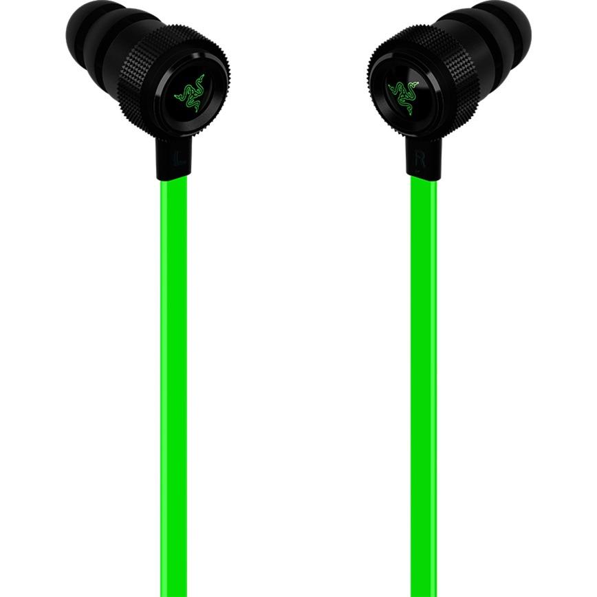Hammerhead V2 Dentro de oído Binaurale Alámbrico Negro, Verde auriculares para móvil