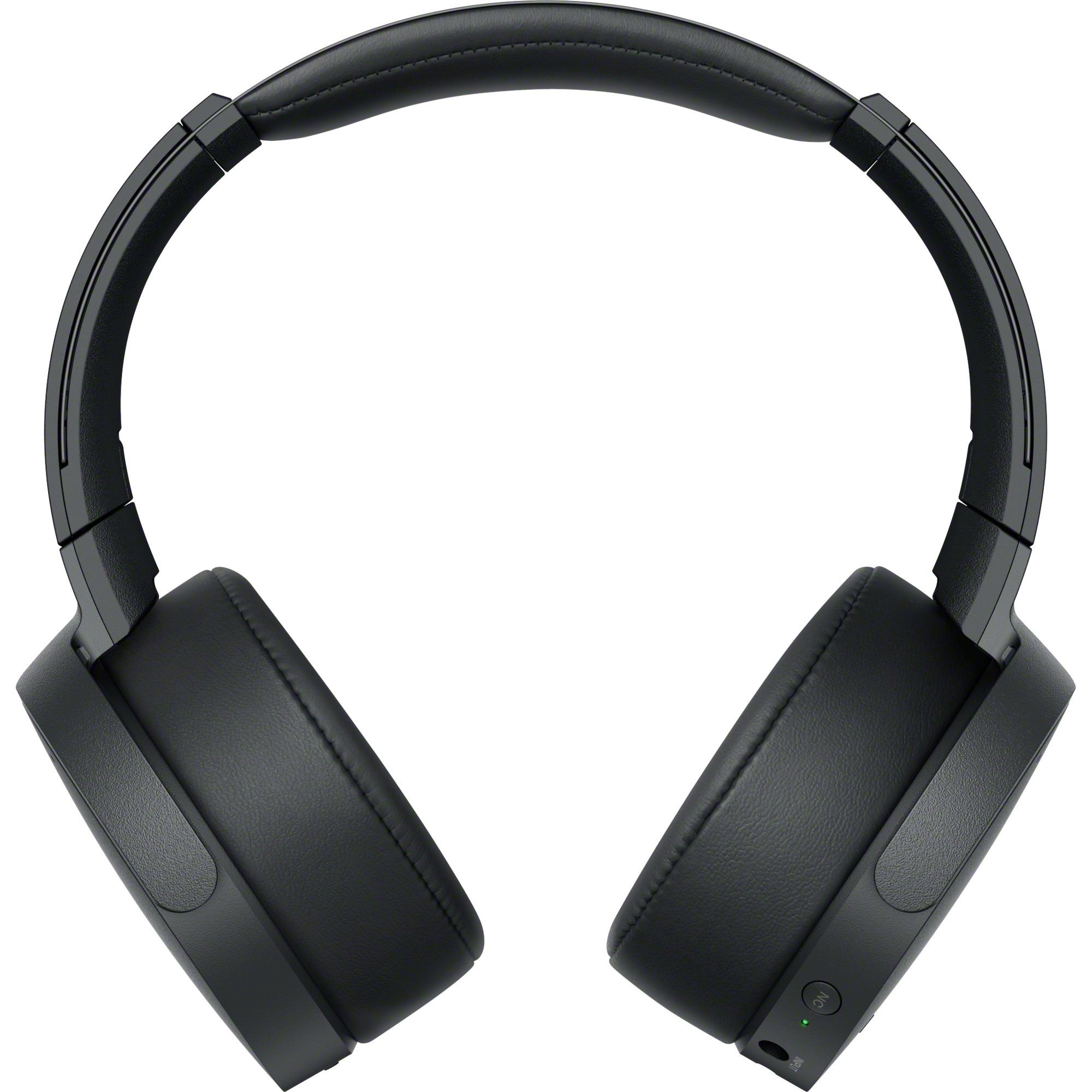 MDR-XB950N1B Negro Circumaural Diadema auricular, Auriculares con micrófono