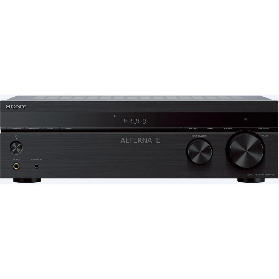 STR-DH190 receptor AV 100 W 2.0 canales Estéreo Negro