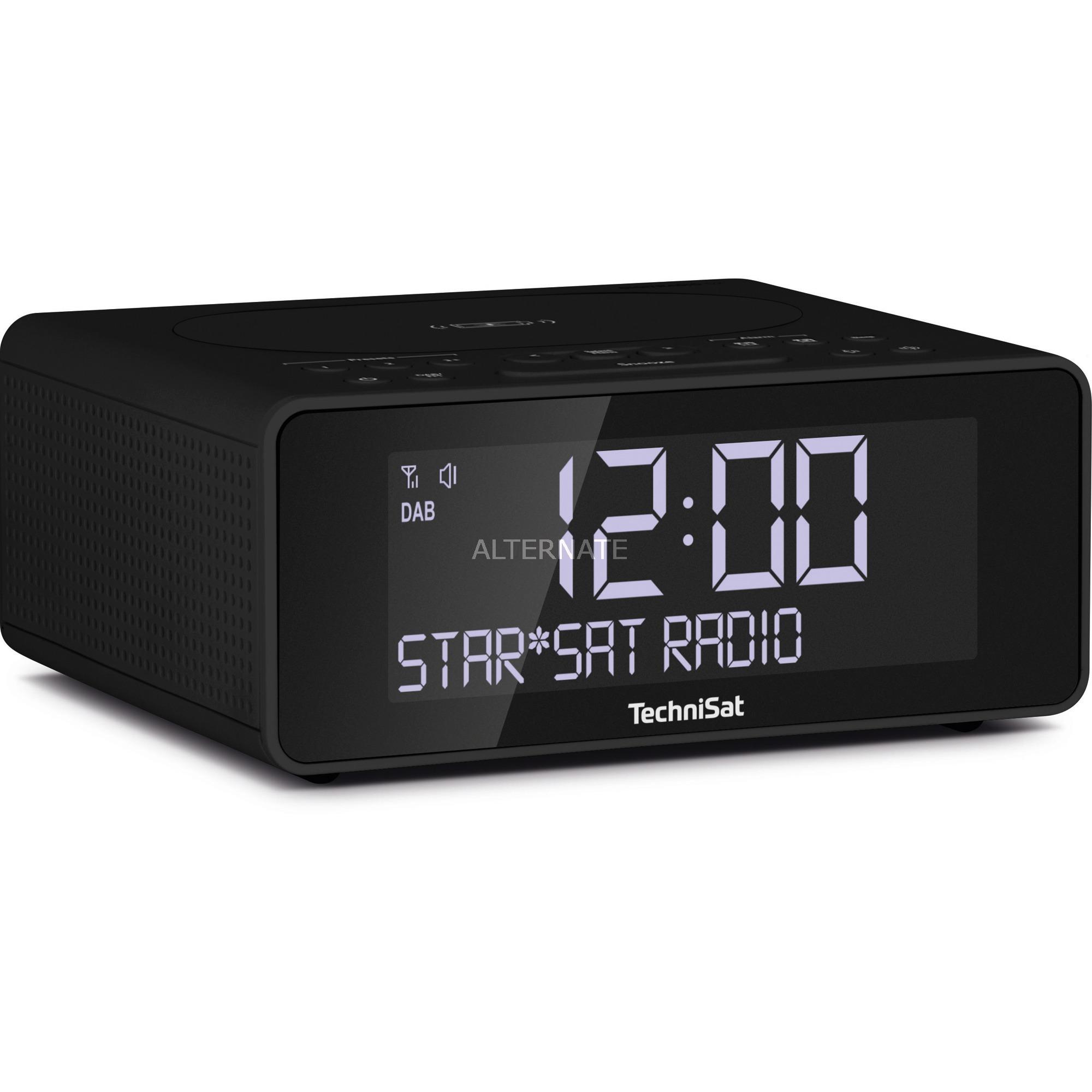 0000/3914 radio Reloj Digital Antracita, Radio despertador