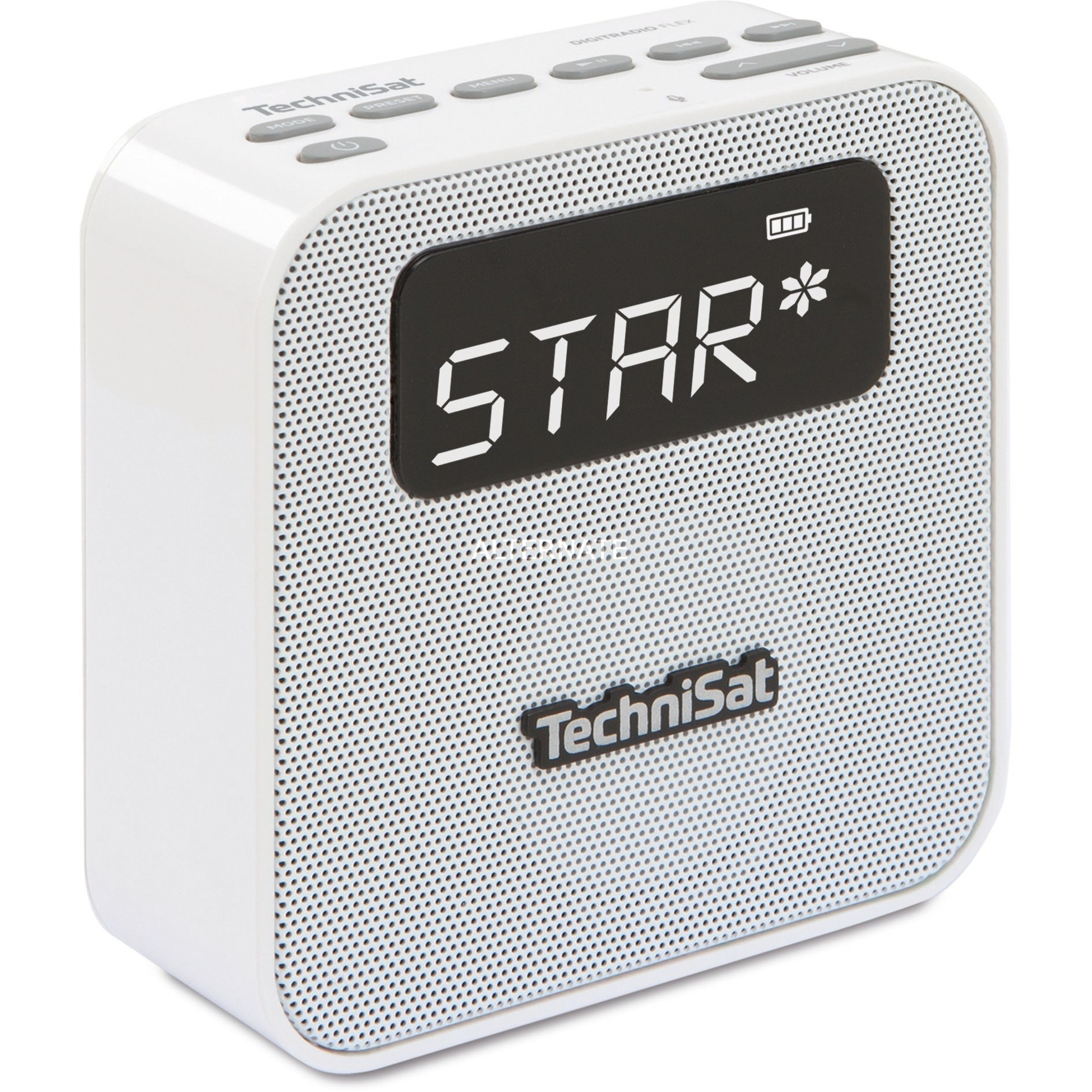 0001/4994 Portátil Analógico y digital Plata radio