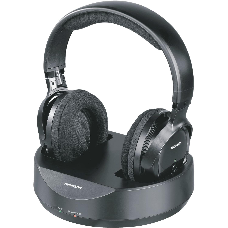 WHP3001BK Negro Supraaural Diadema auricular, Auriculares