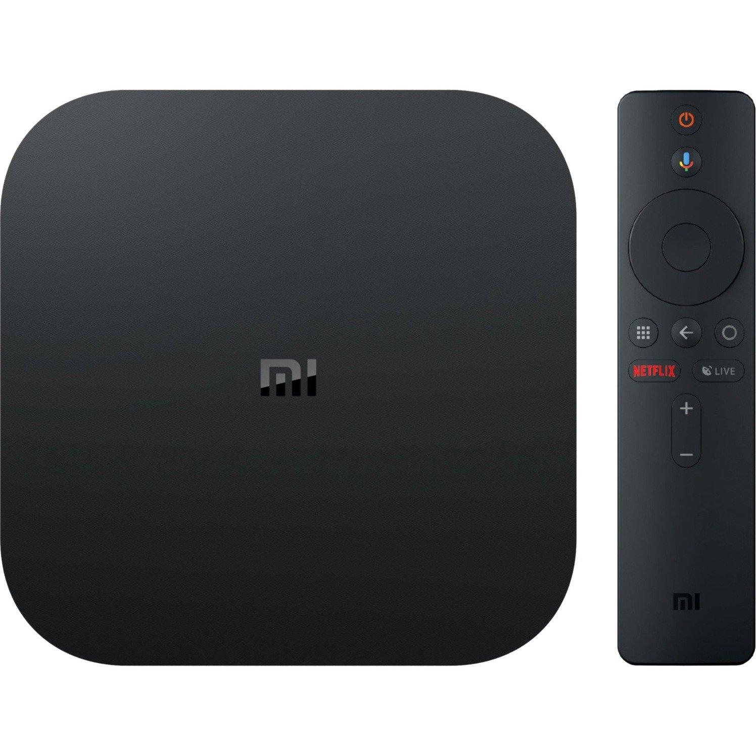 Mi Box S 8 GB Wifi Negro 4K Ultra HD, Reproductor de red