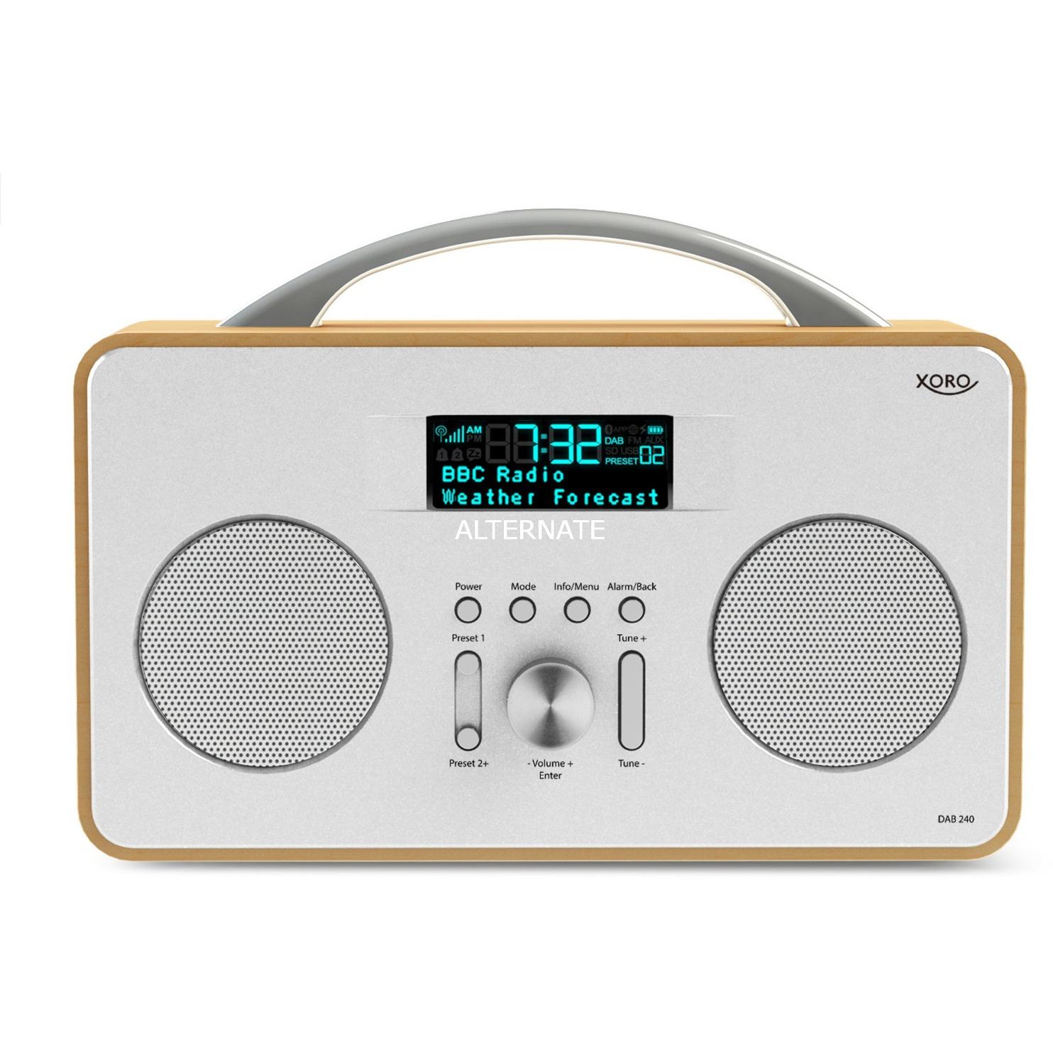 DAB 240, Radio