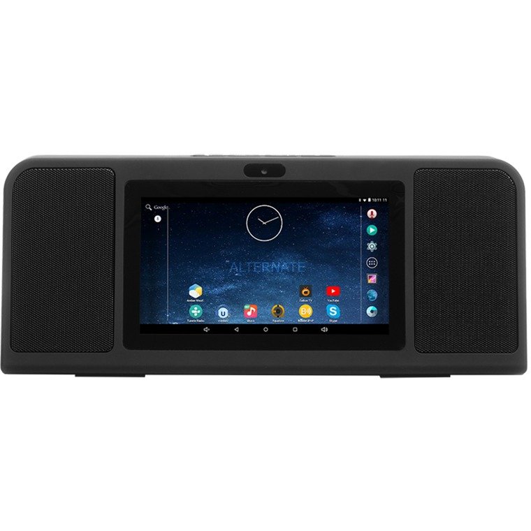 HMT 362 8000GB Wifi Negro reproductor multimedia y grabador de sonido, Radio por Internet