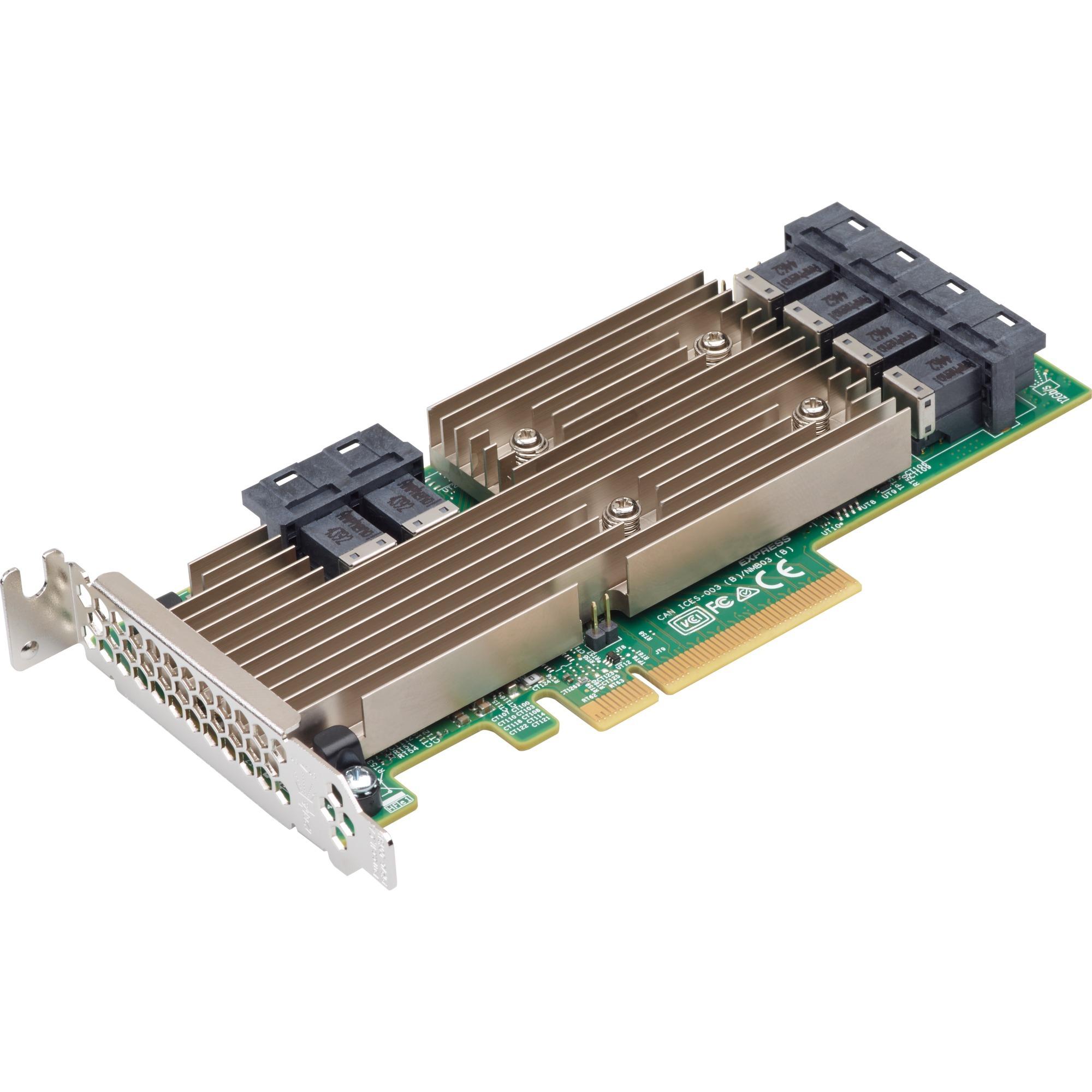 9305-24i Interno PCIe, mini SAS tarjeta y adaptador de interfaz, Controlador