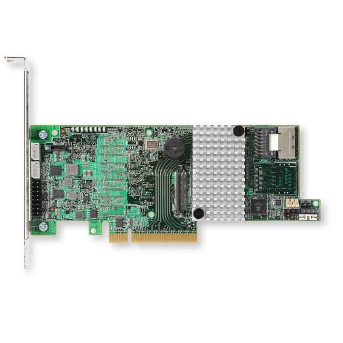 MegaRAID SAS 9271-4i Sgl controlado RAID PCI Express x8 3.0 6 Gbit/s, Controlador