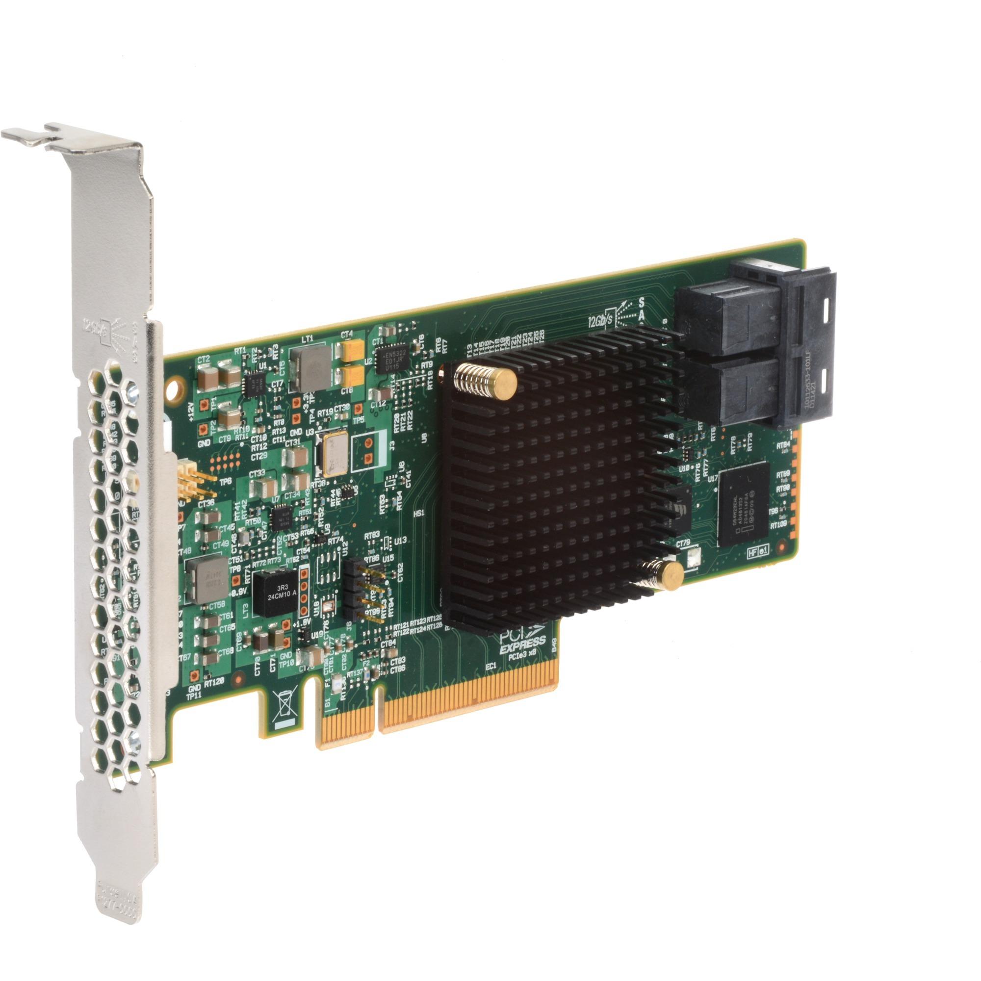 MegaRAID SAS 9341-8i controlado RAID PCI Express x8 3.0 12 Gbit/s, Controlador