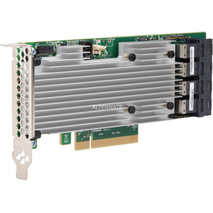 MegaRAID SAS 9361-16i PCI Express x8 12Gbit/s controlado RAID, Controlador