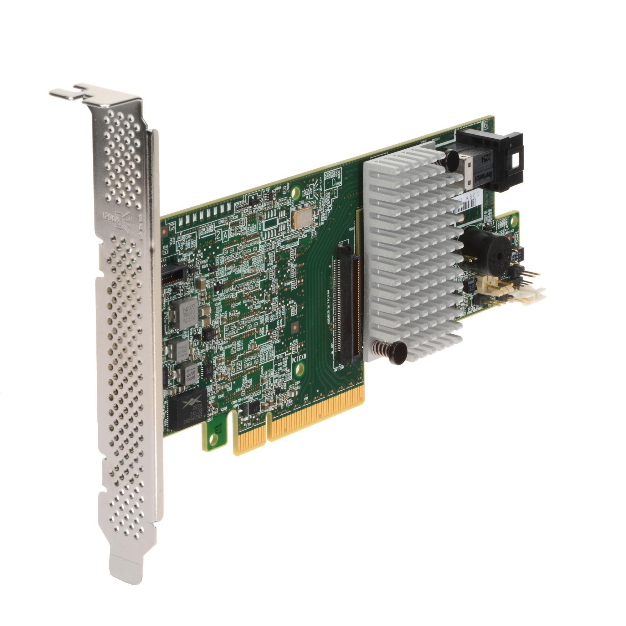 MegaRAID SAS 9361-4i PCI Express x8 12Gbit/s controlado RAID, Controlador