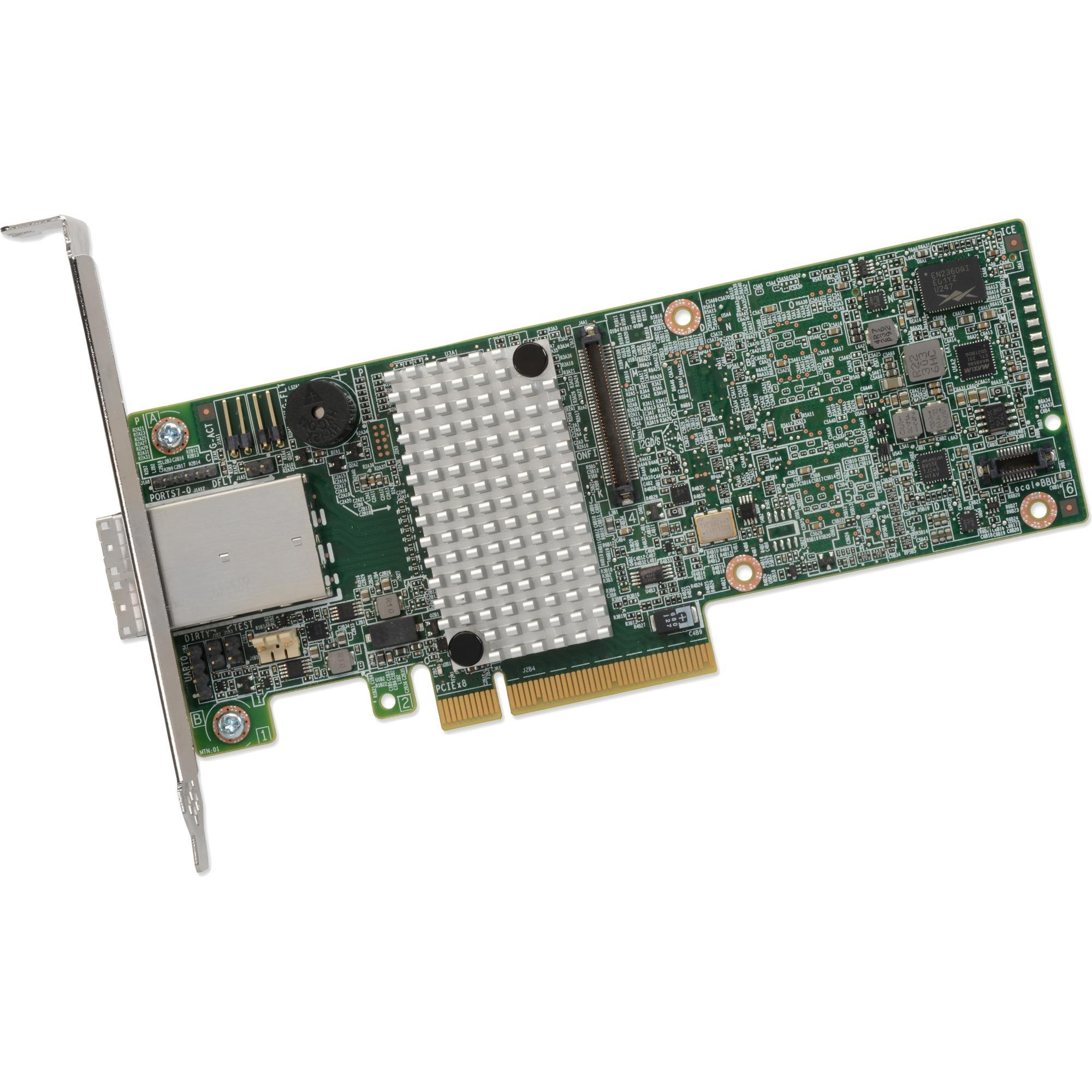MegaRAID SAS 9380-8e PCI Express x8 3.0 12Gbit/s controlado RAID, Controlador