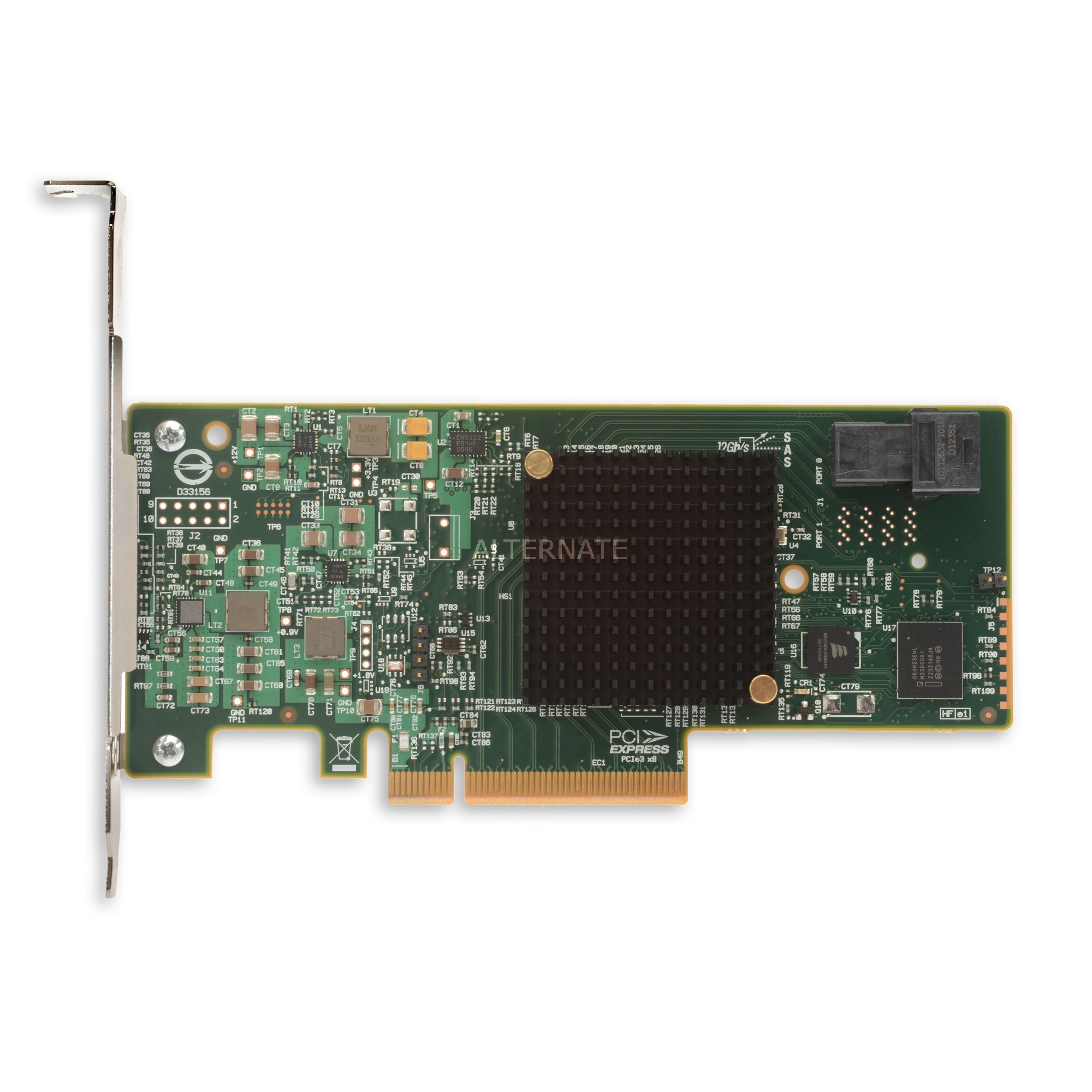 SAS 9300-4i tarjeta y adaptador de interfaz SAS,SATA Interno, Controlador