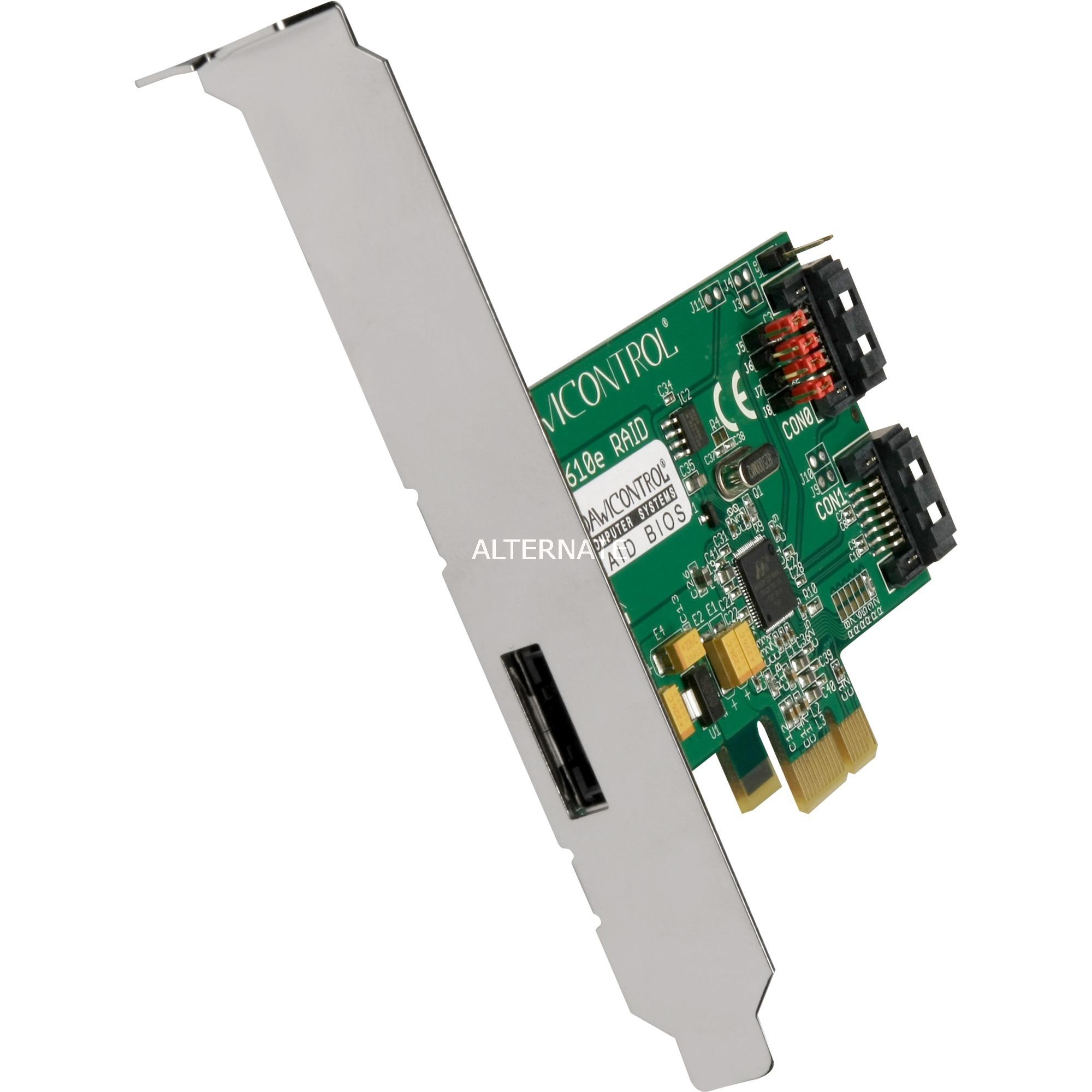 DC-610E RAID controlado RAID 2.0 5 Gbit/s, Controlador