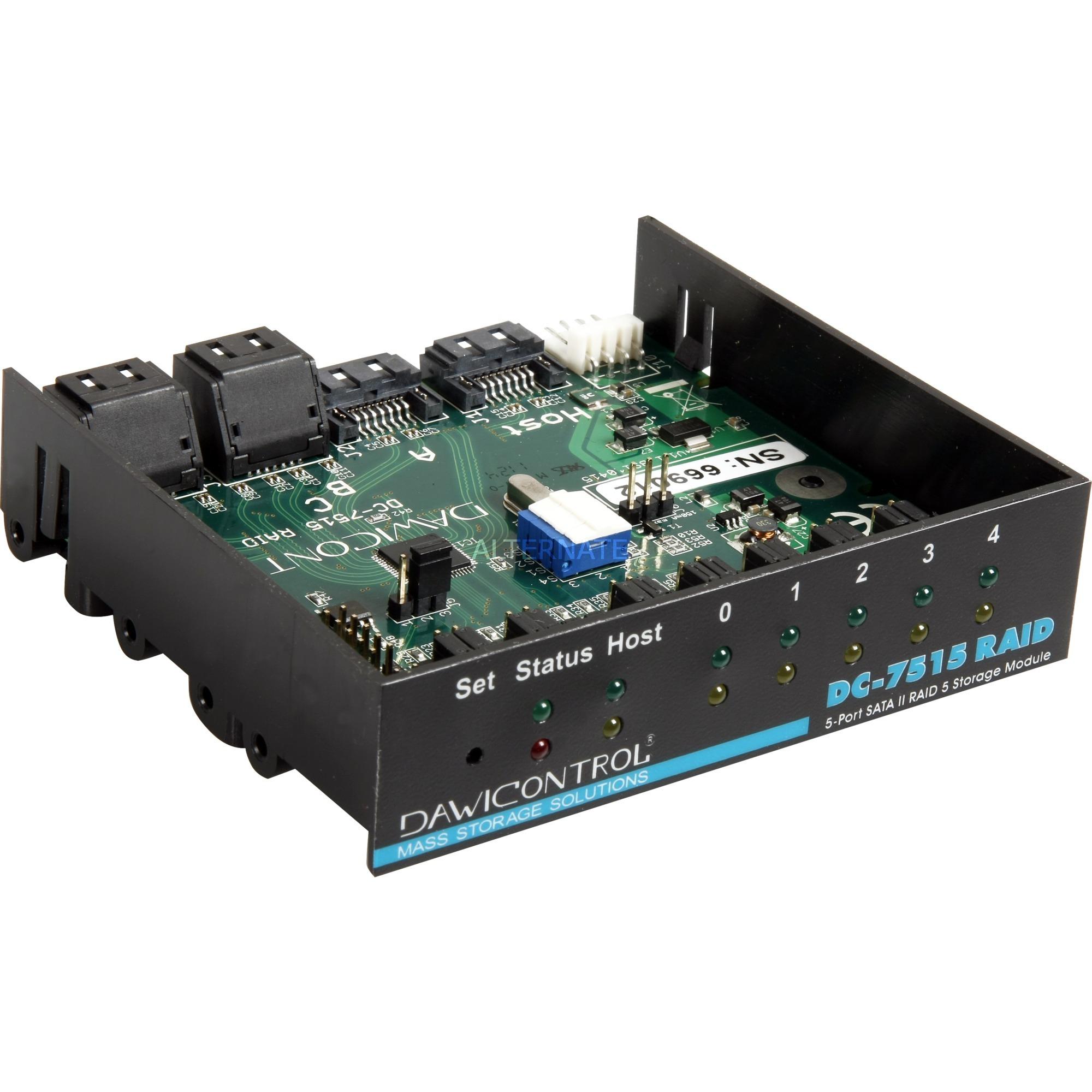 DC-7515 RAID 3Gbit/s controlado RAID, Controlador