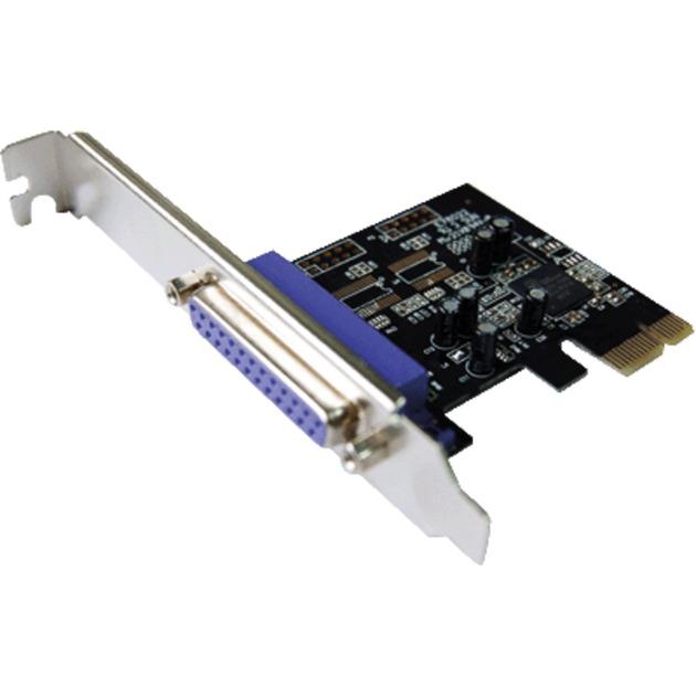 DC-9110 PCIE Interno Paralelo tarjeta y adaptador de interfaz, Tarjeta de interfaz