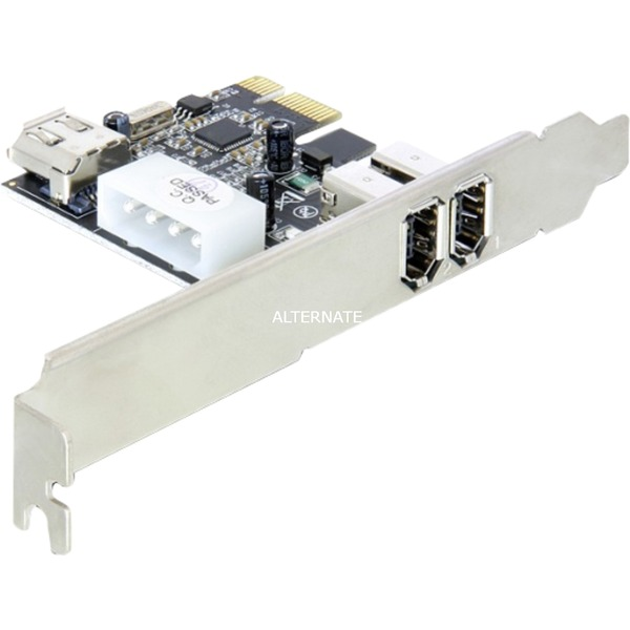 3-port FireWire PCI Express Card tarjeta y adaptador de interfaz Interno IEEE 1394/Firewire, Controlador