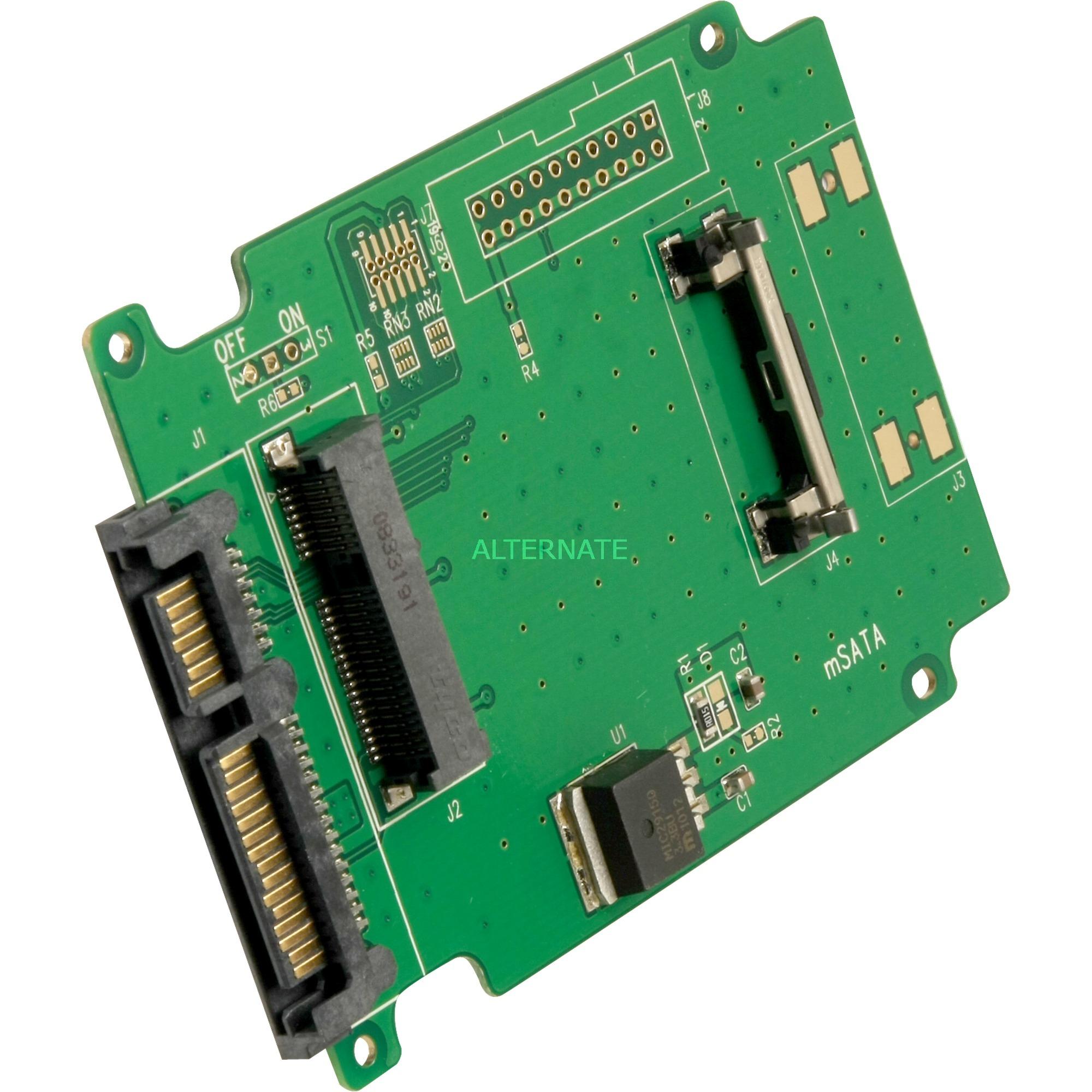 61881 tarjeta y adaptador de interfaz Interno mSATA