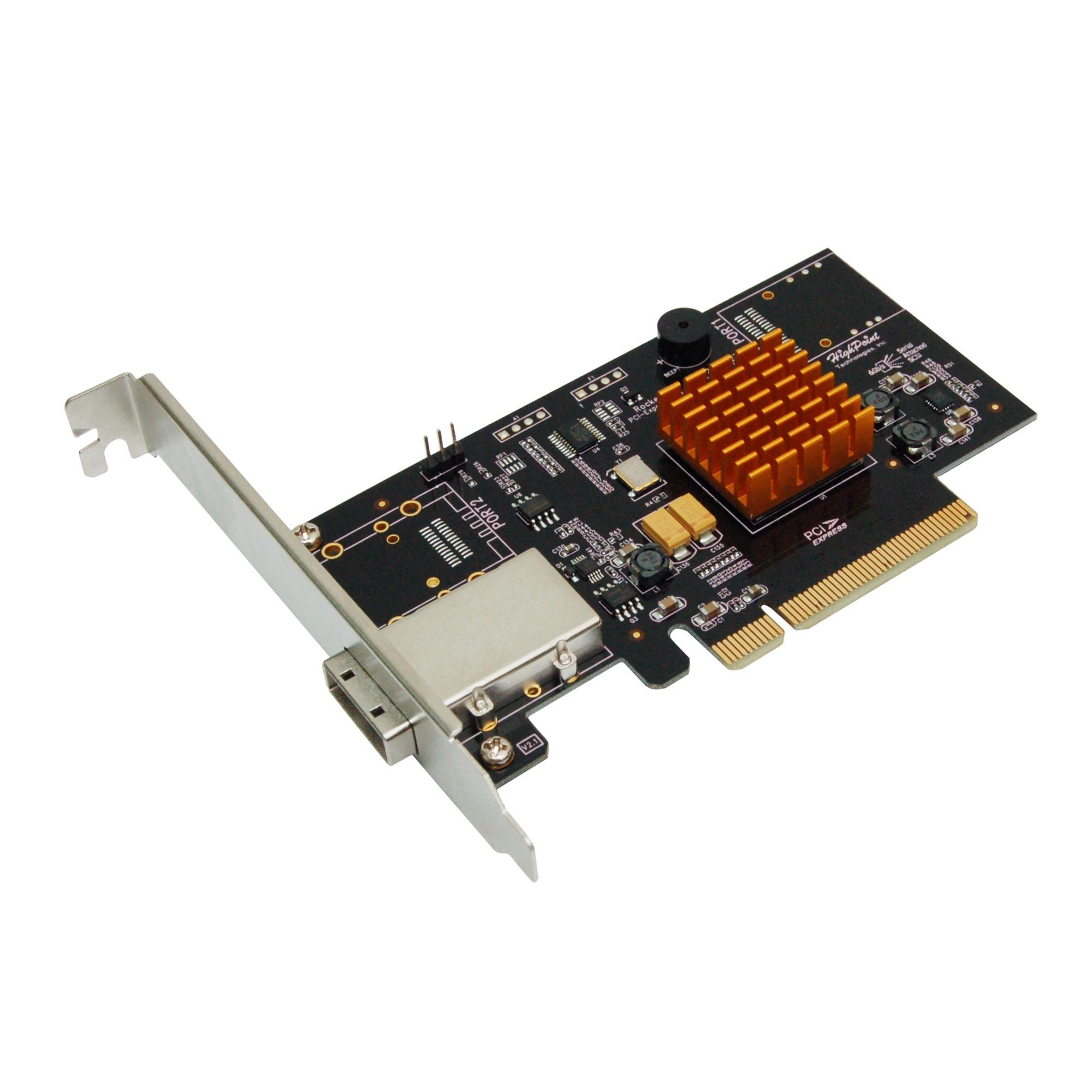 RocketRAID 2711 tarjeta y adaptador de interfaz mini SAS Interno, Controlador
