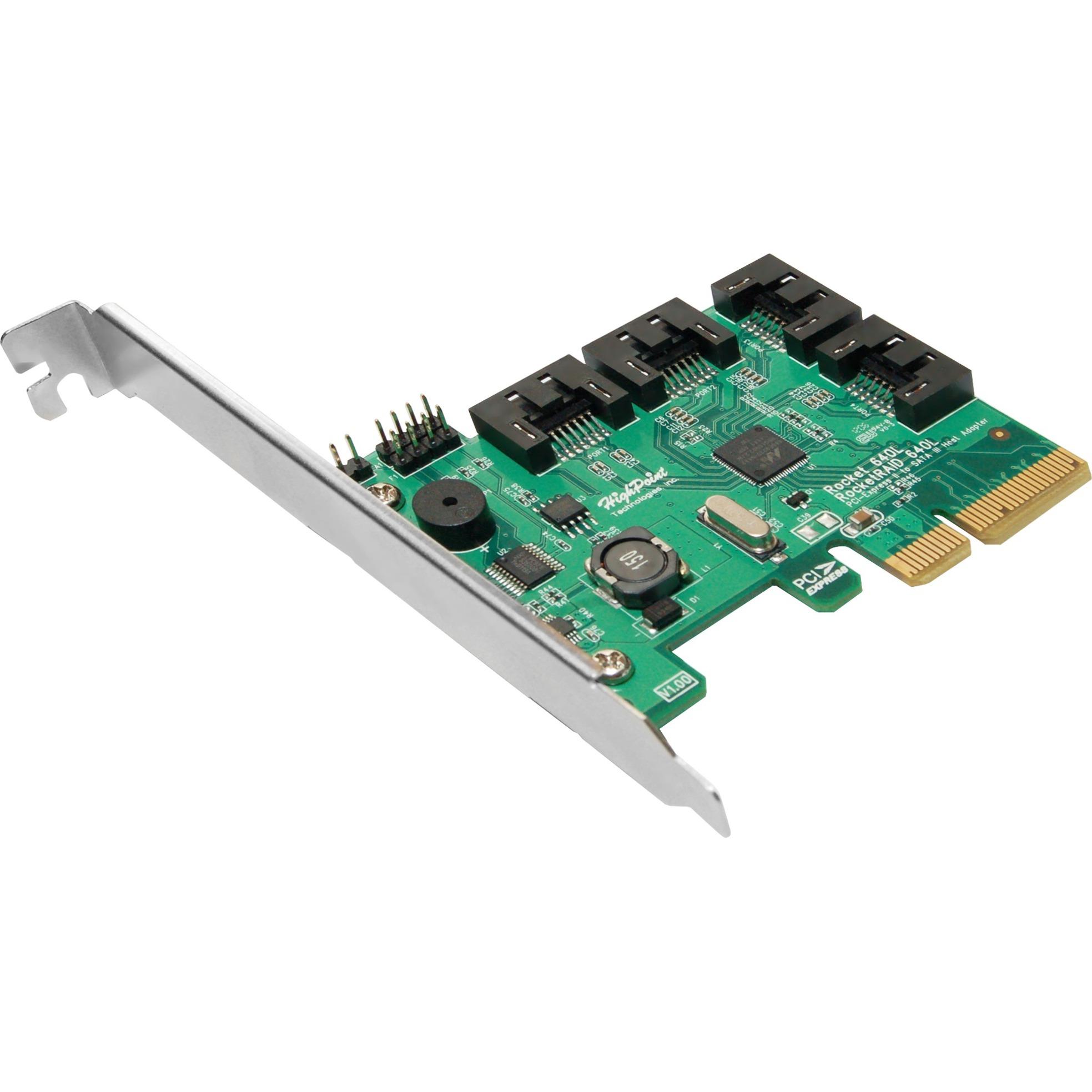 RocketRAID 640L tarjeta y adaptador de interfaz SATA Interno, Controlador ATA serie