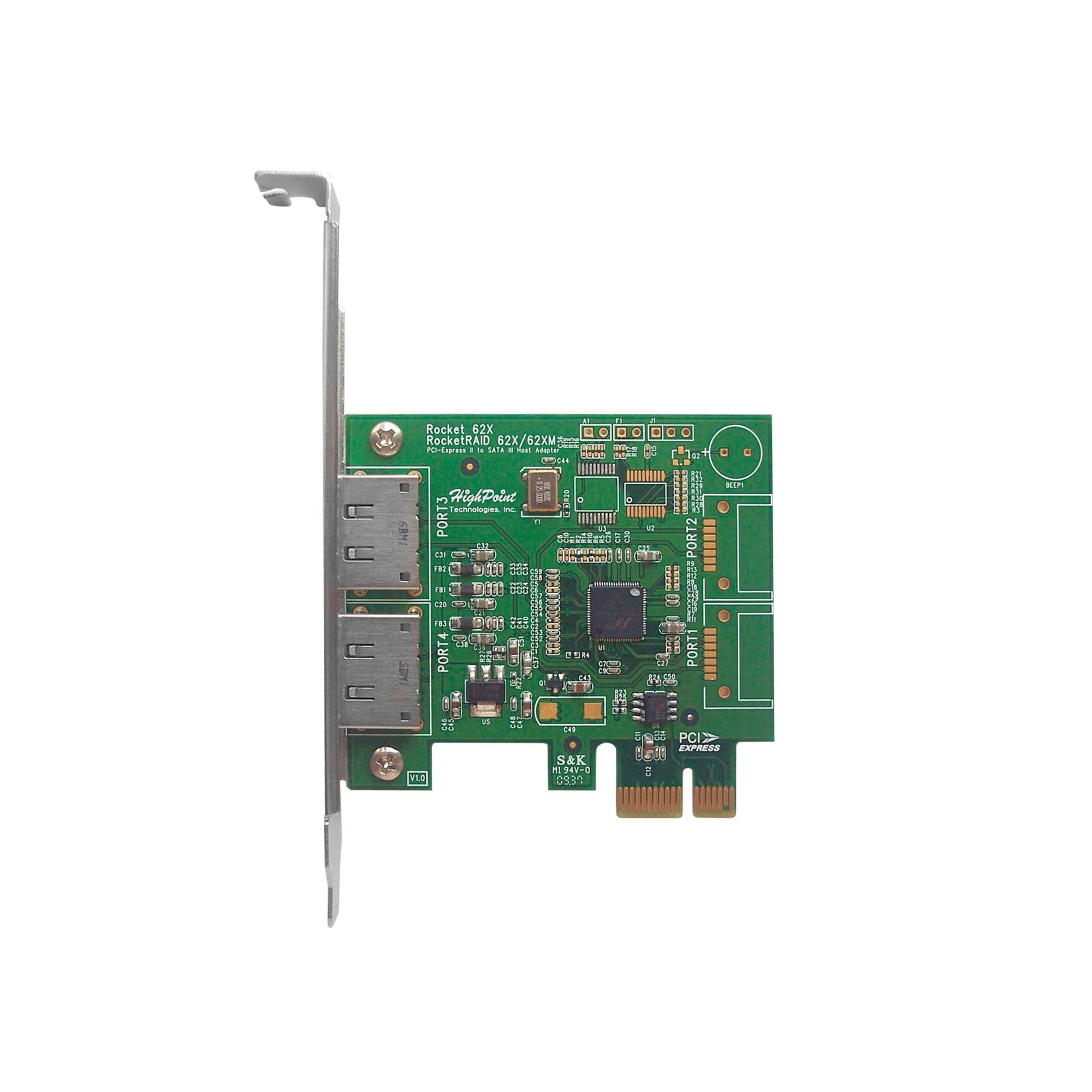 Rocket 622 Interno eSATA tarjeta y adaptador de interfaz, Controlador