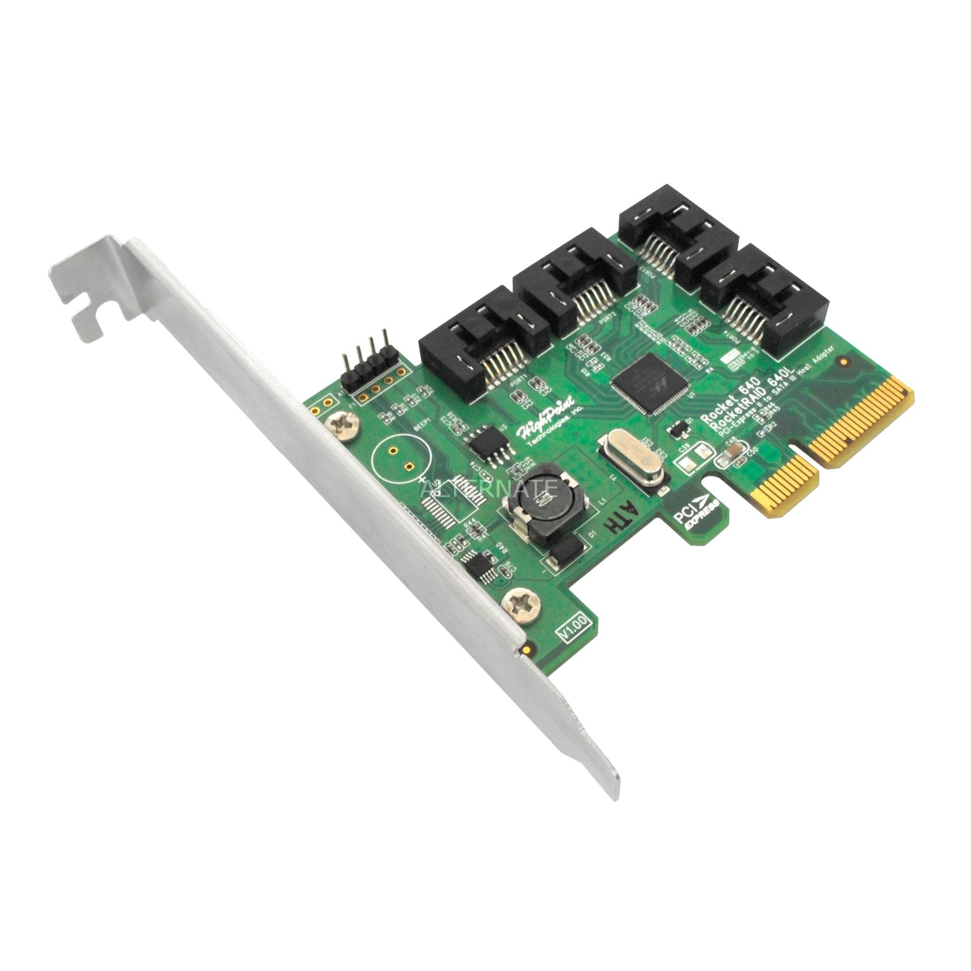 Rocket 640L Interno SATA tarjeta y adaptador de interfaz, Controlador