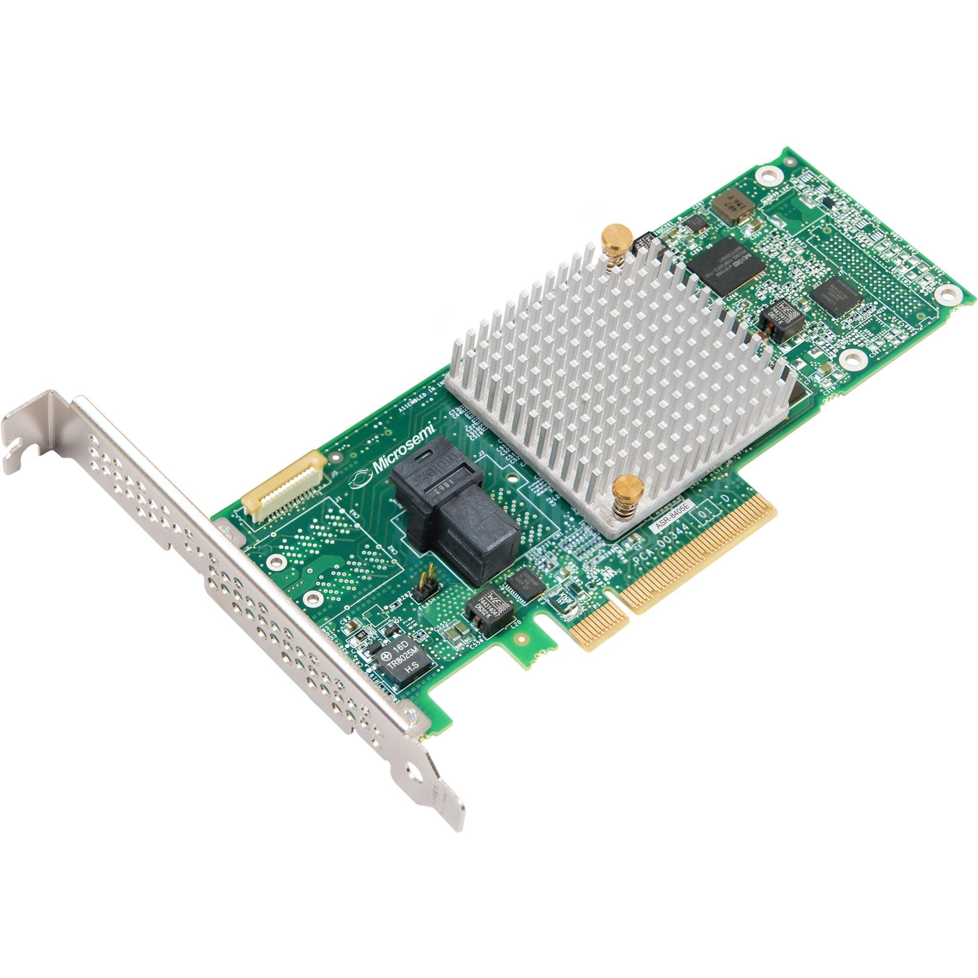 8405E controlado RAID PCI Express x8 3.0 12 Gbit/s, Controlador ATA serie