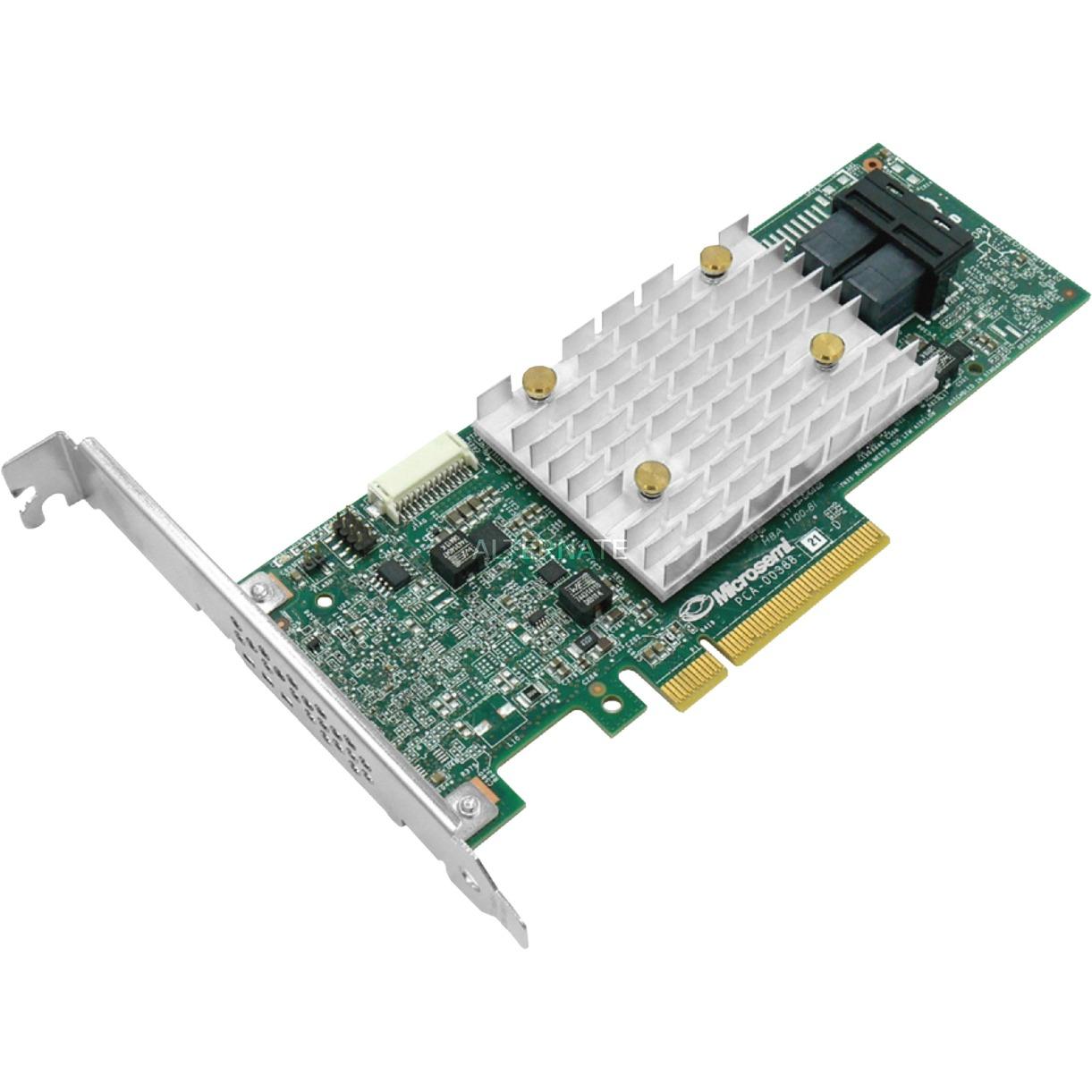 HBA 1100-8i tarjeta y adaptador de interfaz Mini-SAS HD Interno, Controlador