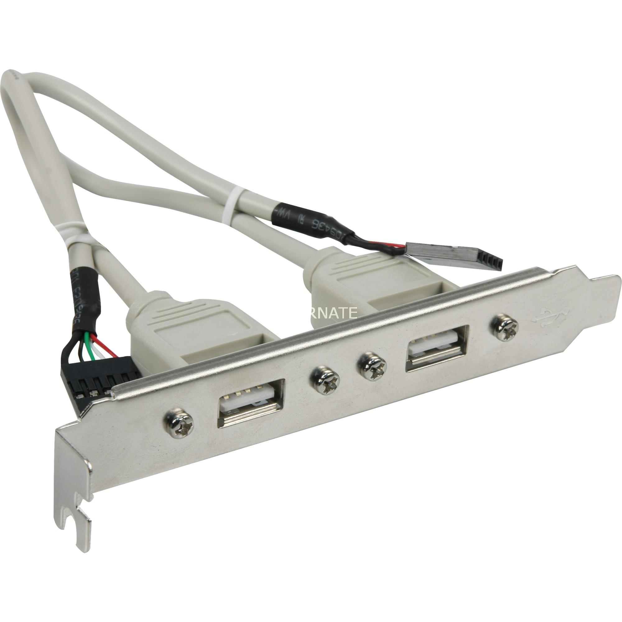 AK-300301-002-E cable para ordenador y periféricos, Tapa de ranura