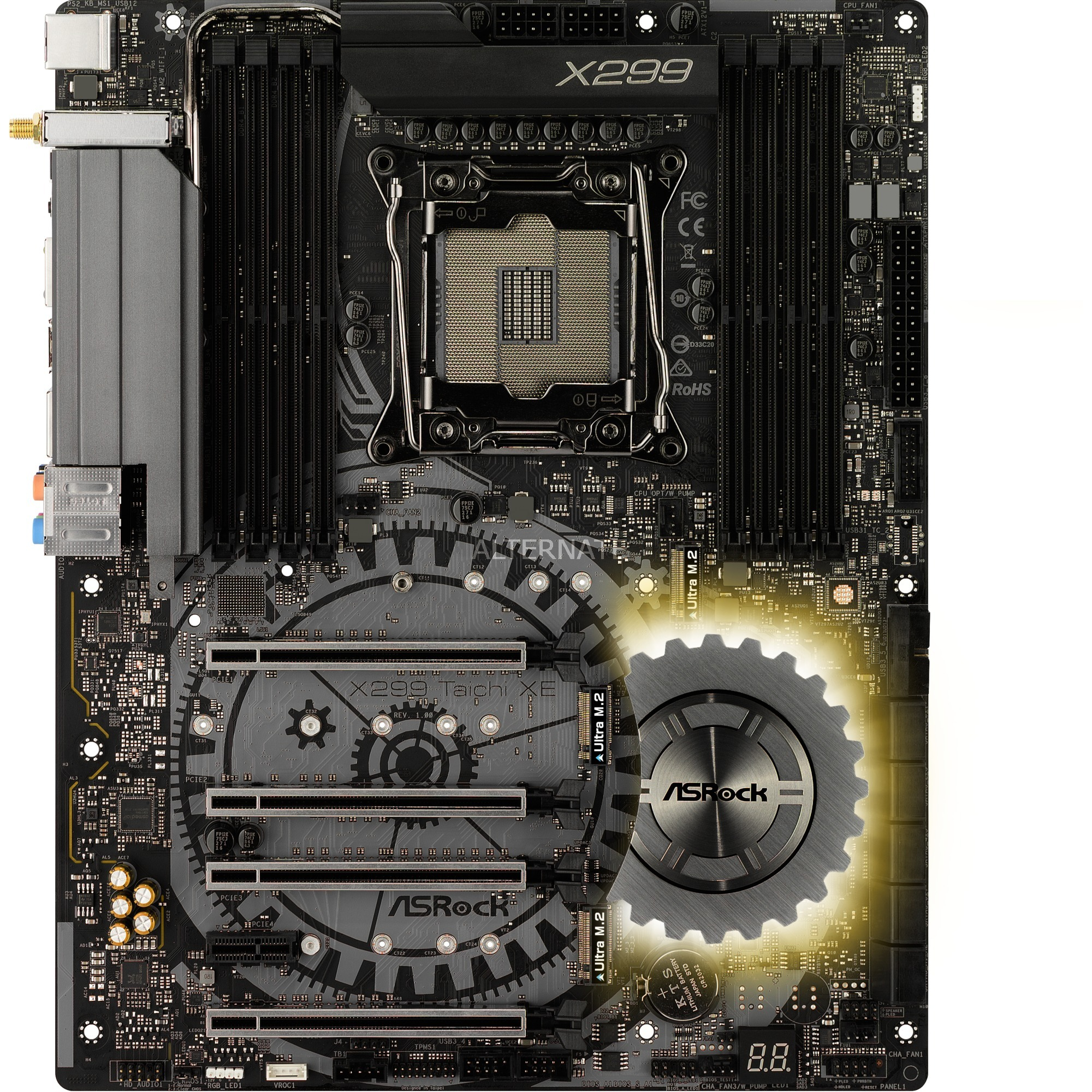 90-MXB6J0-A0UAYZ Intel X299 LGA 2066 ATX placa base