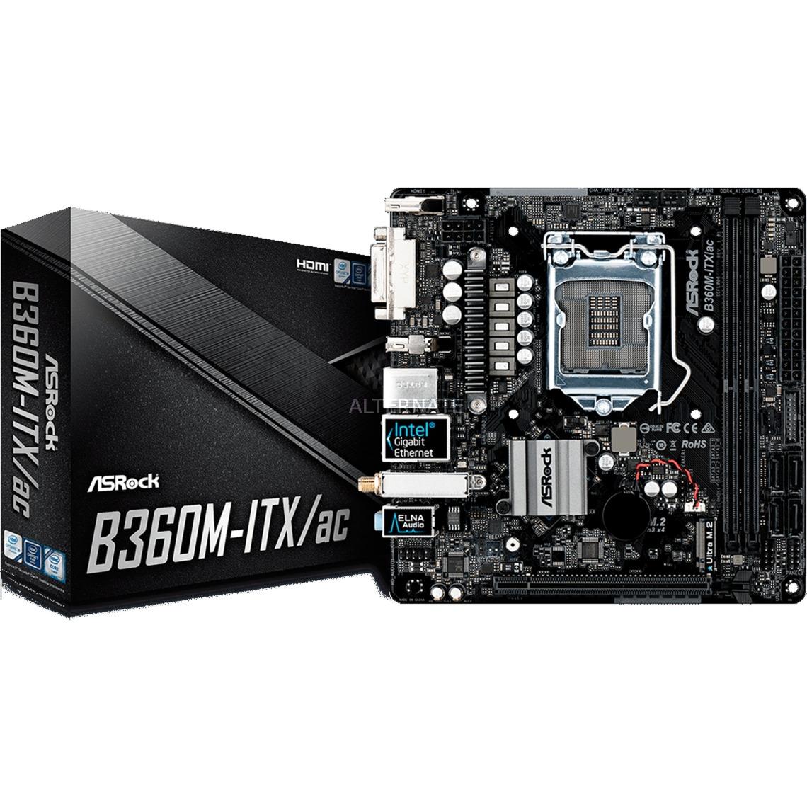 B360M-ITX/AC, Placa base