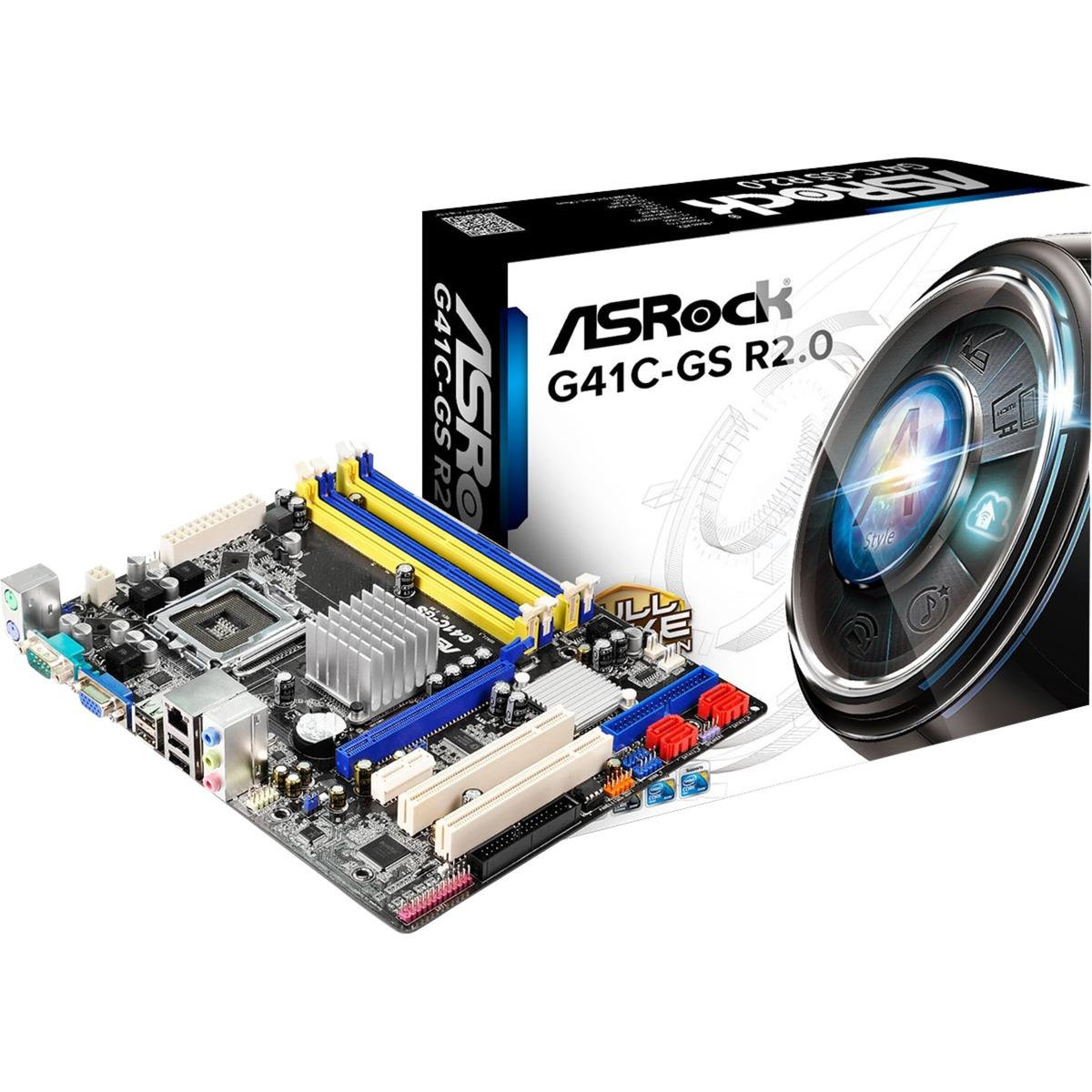 G41C-GS R2.0, Placa base