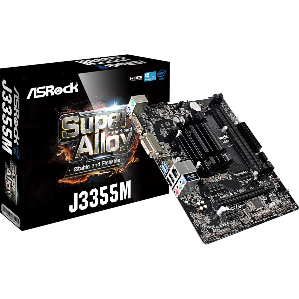 J3355M NA (CPU integrada) micro ATX, Placa base