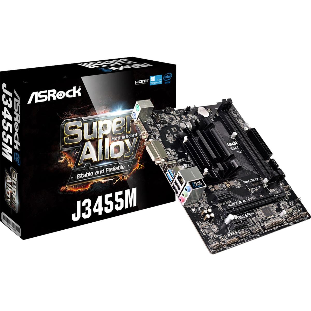 J3455M NA (CPU integrada) micro ATX, Placa base