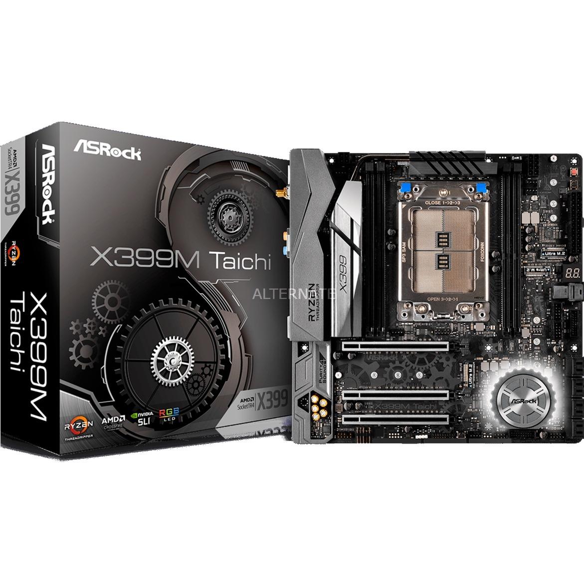 X399M Taichi Socket TR4 AMD X399 micro ATX, Placa base