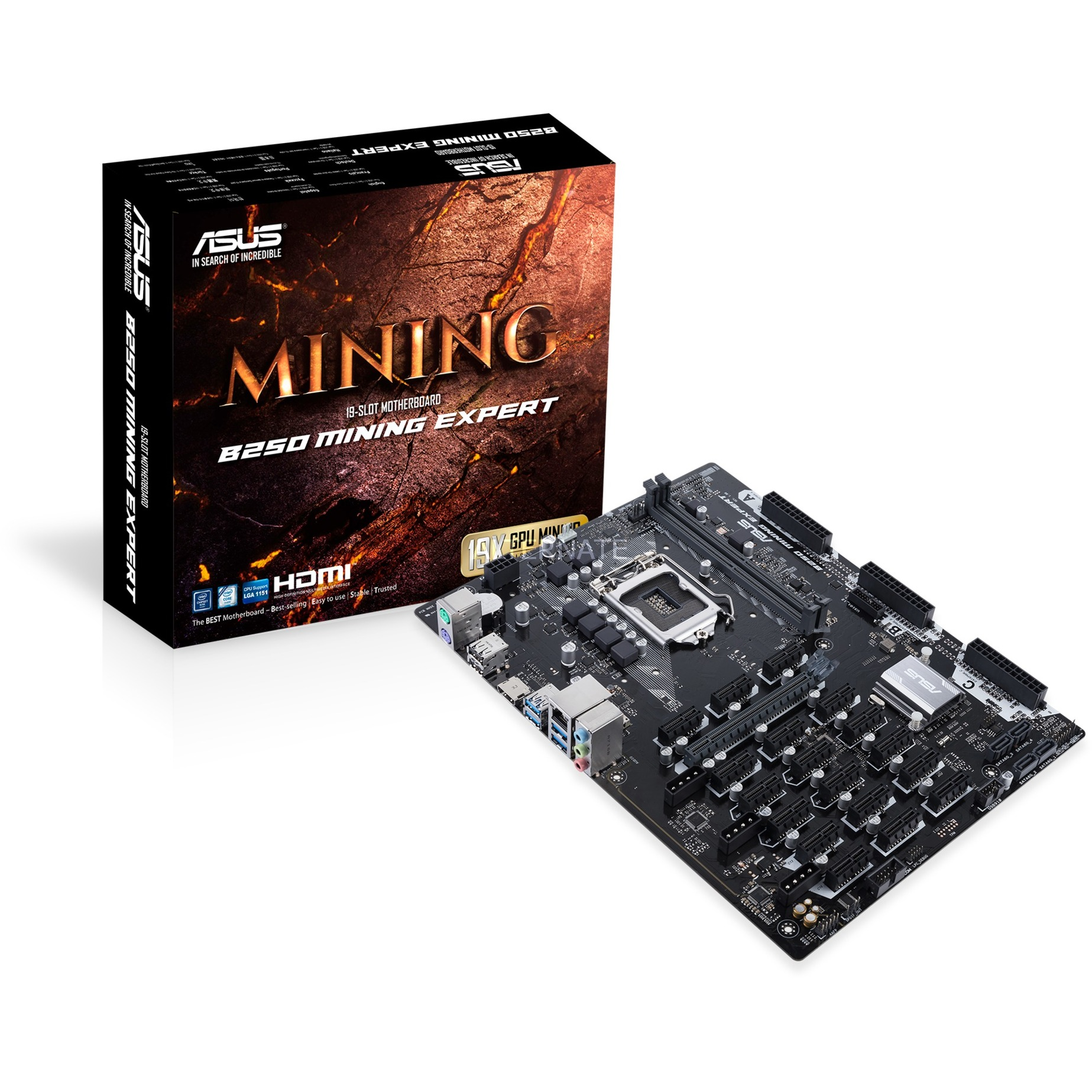 B250 MINING EXPERT LGA 1151 (Zócalo H4) Intel B250 ATX, Placa base