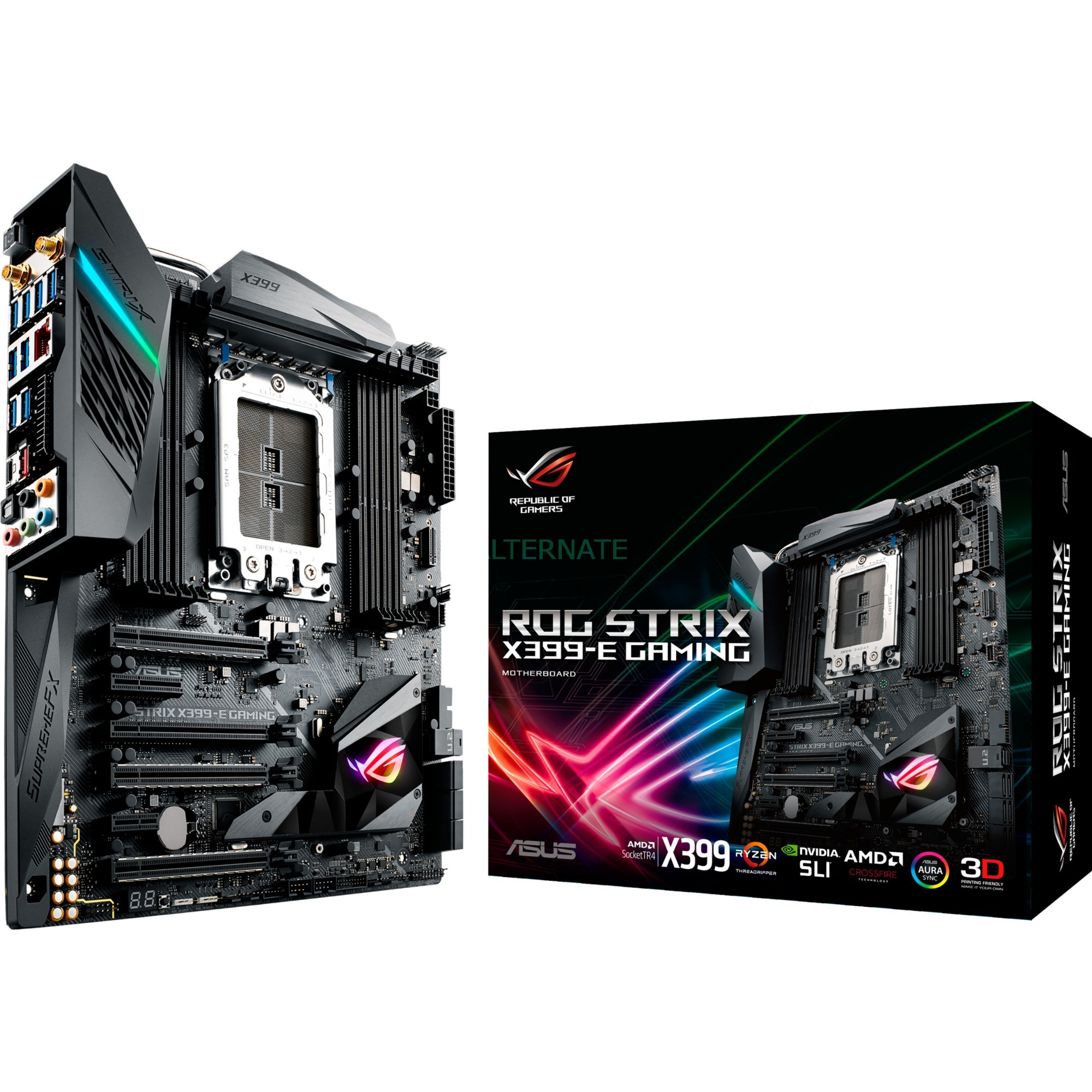 ROG STRIX X399-E GAMING placa base Socket TR4 ATX AMD X399