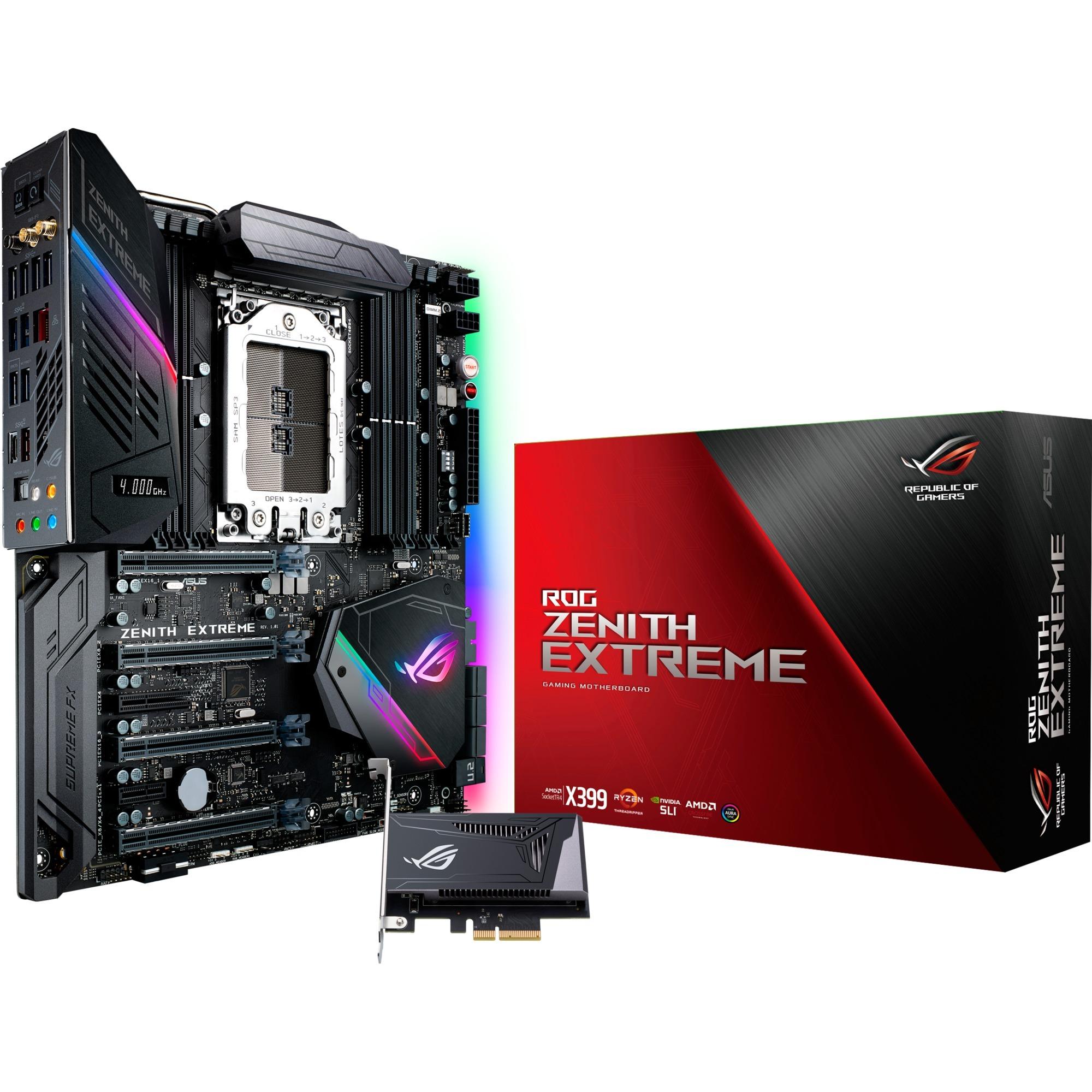 ROG ZENITH EXTREME Socket TR4 AMD X399 ATX extendida, Placa base
