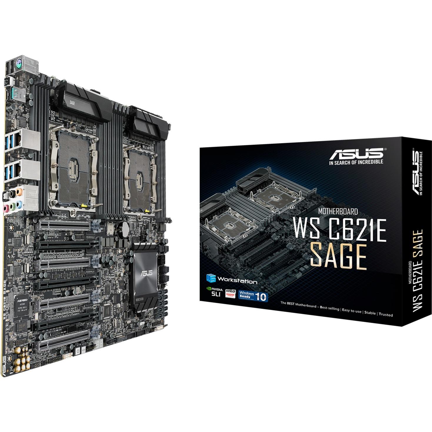 WS C621E SAGE Socket P Intel C621 EEB, Placa base