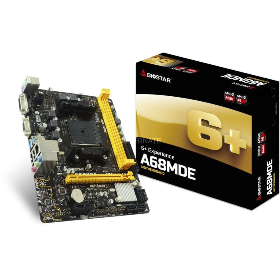 A68MDE placa base Socket FM2+ Micro ATX AMD A68H