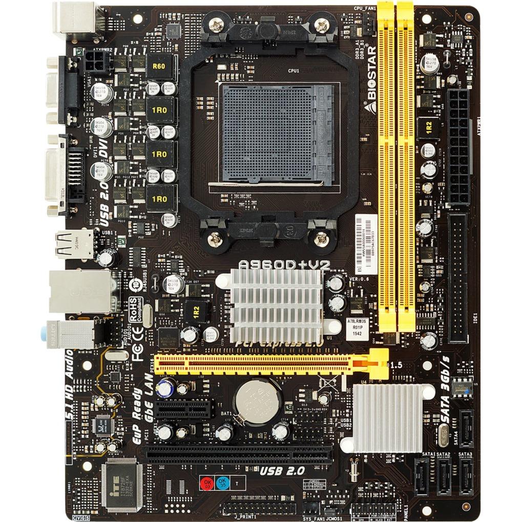 A960D+ V2 AMD 890GX Socket AM3+ microATX placa base