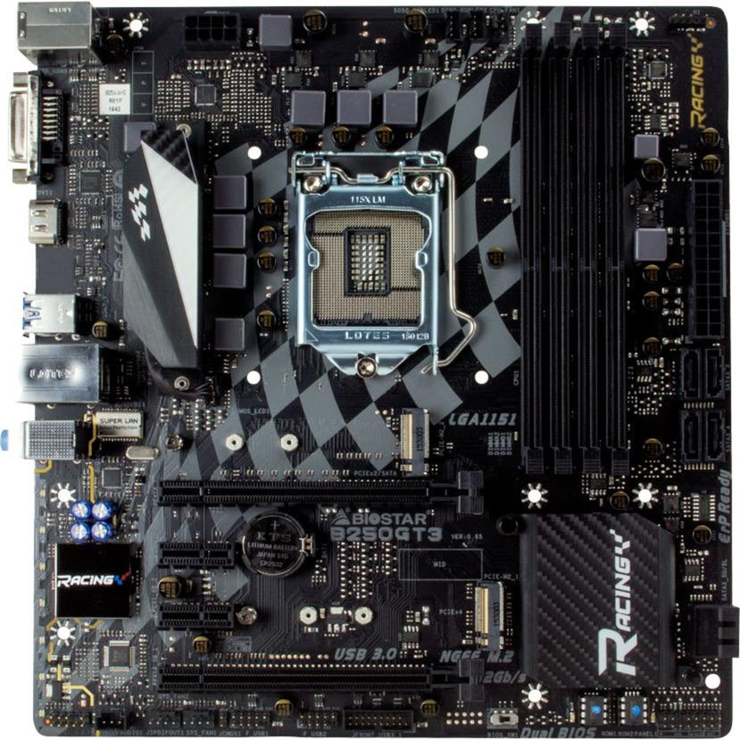 B250GT3 Intel B250 LGA 1151 (Socket H4) Micro ATX placa base