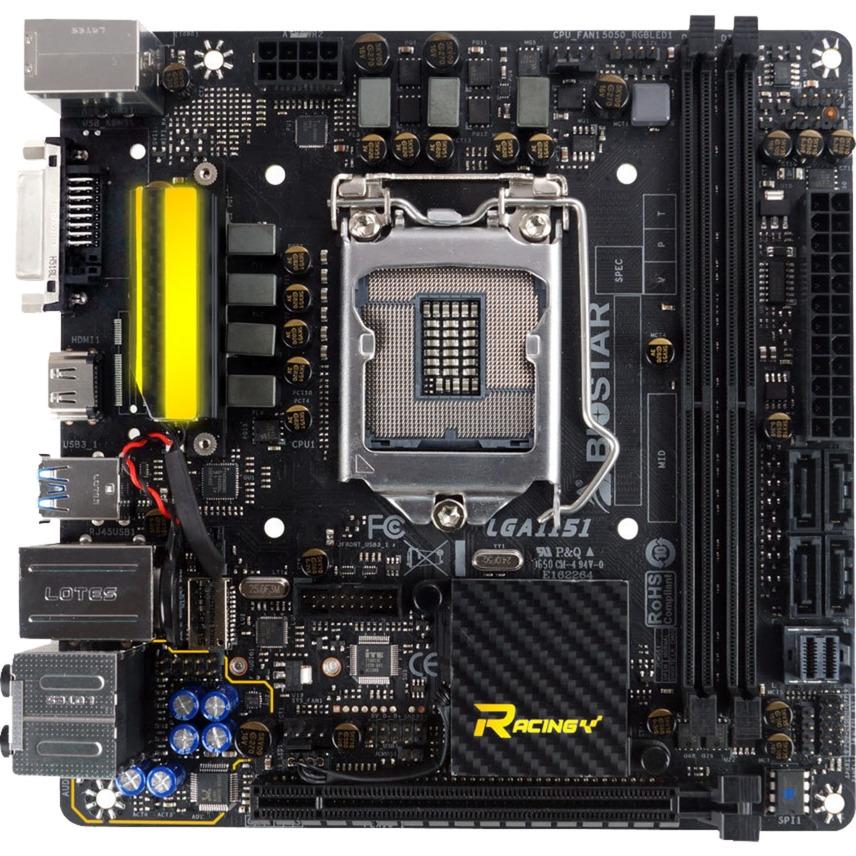 B250GTN Intel B250 LGA 1151 (Socket H4) Mini ITX placa base