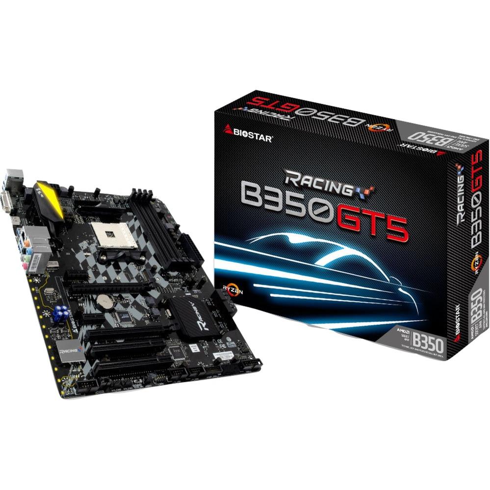 B350GT5 AMD B350 Zócalo AM4 ATX placa base