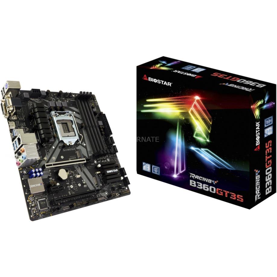 B360GT3S placa base LGA 1151 (Zócalo H4) Intel B360 micro ATX