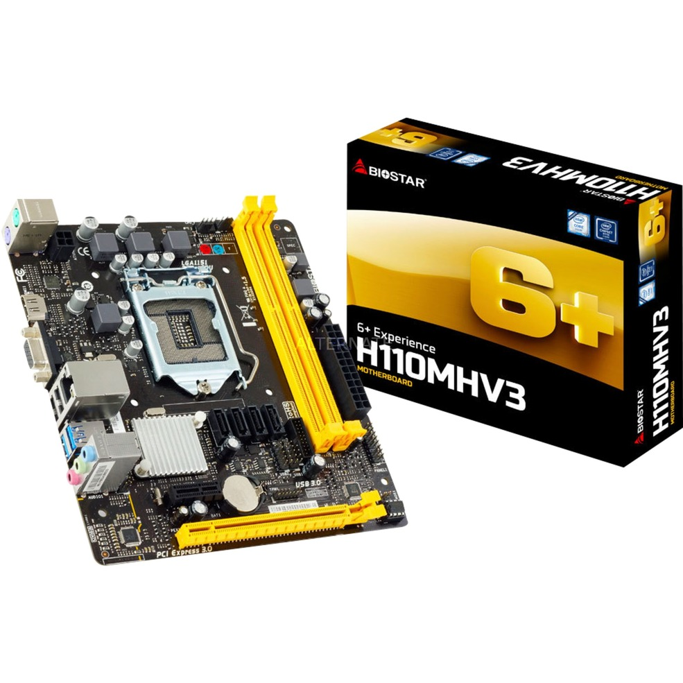 H110MHV3 placa base LGA 1151 (Zócalo H4) Intel H110 micro ATX