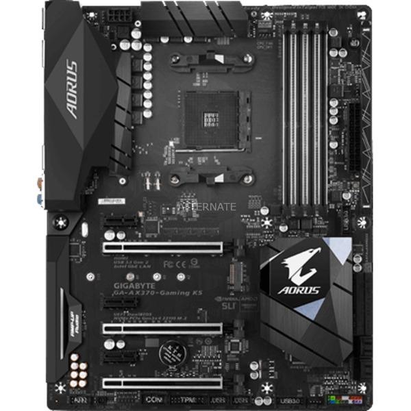 AX370-Gaming K5 AMD X370 Zócalo AM4 ATX, Placa base