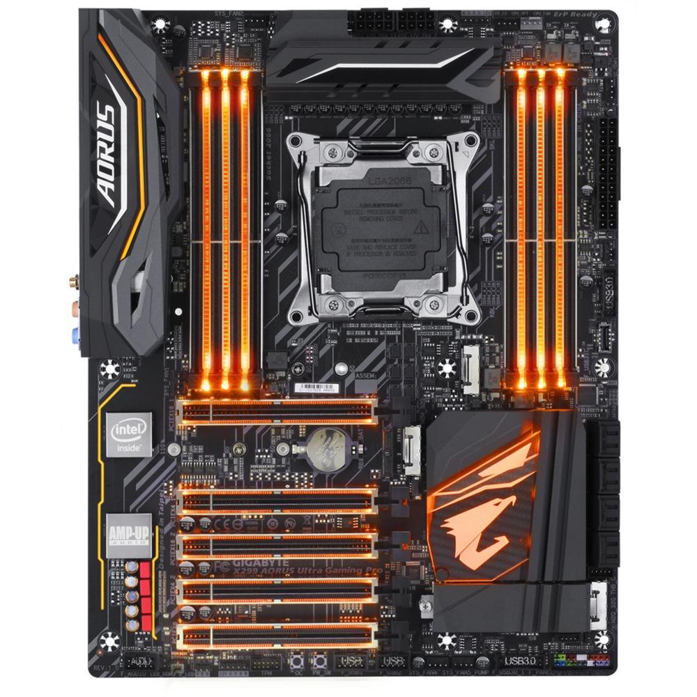 X299 AORUS Ultra Gaming Intel X299 LGA 2066 ATX, Placa base