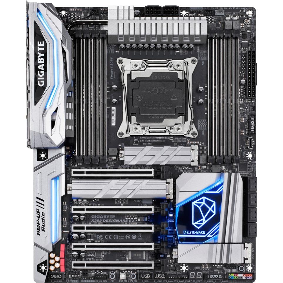 X299 DESIGNARE EX placa base LGA 2066 Intel X299 ATX
